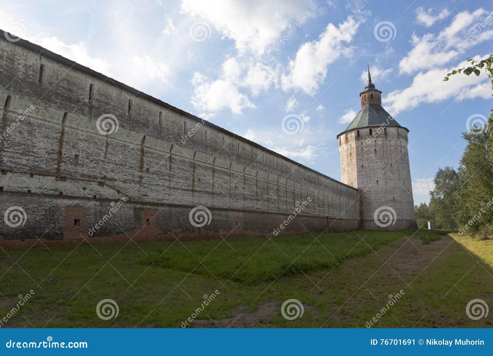 Ferapontovskii (Moskovskaya) tornKirillo-Belozersky kloster, Vologda region, Ryssland