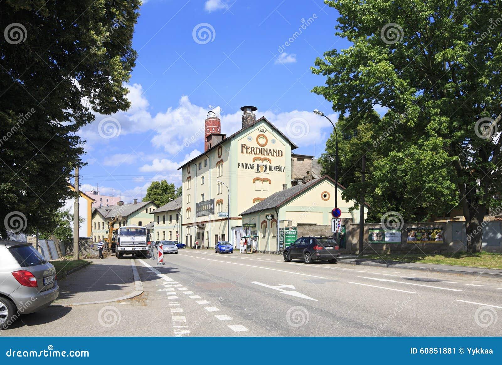 Ferdinand Brewery in Benesov