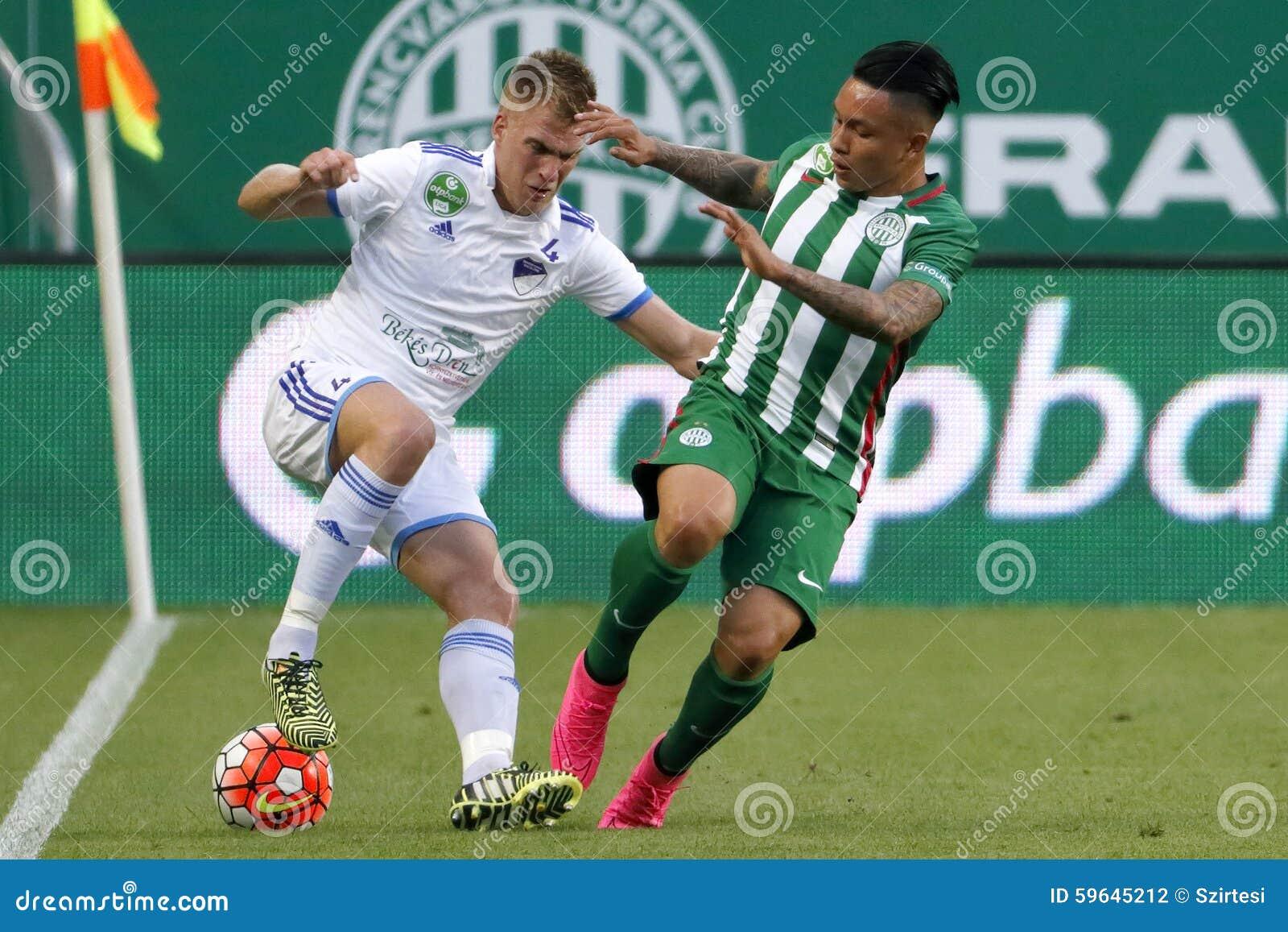 Ferencvaros Vs Bekescsaba Otp Bank League Football Match