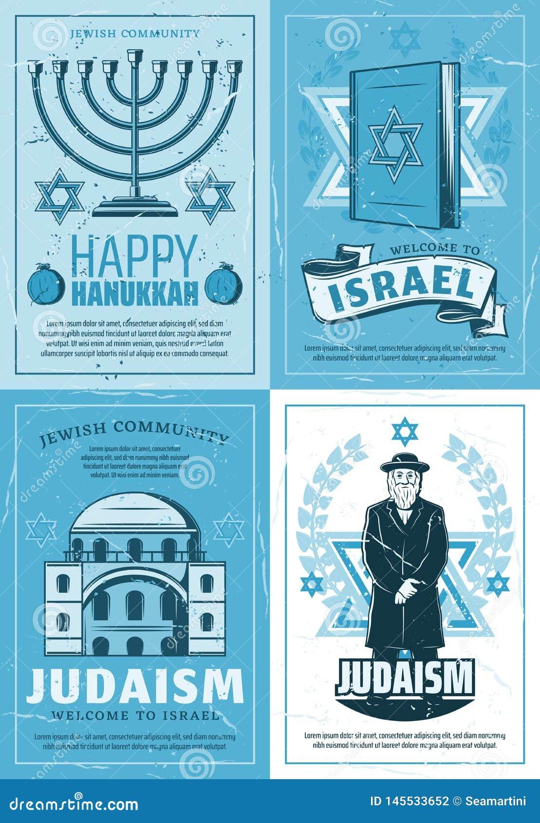 Feriado Judaico Da Cultura Simbolos Da Religiao Do Judaismo Ilustracao Do Vetor Ilustracao De Judaico Cultura 145533652
