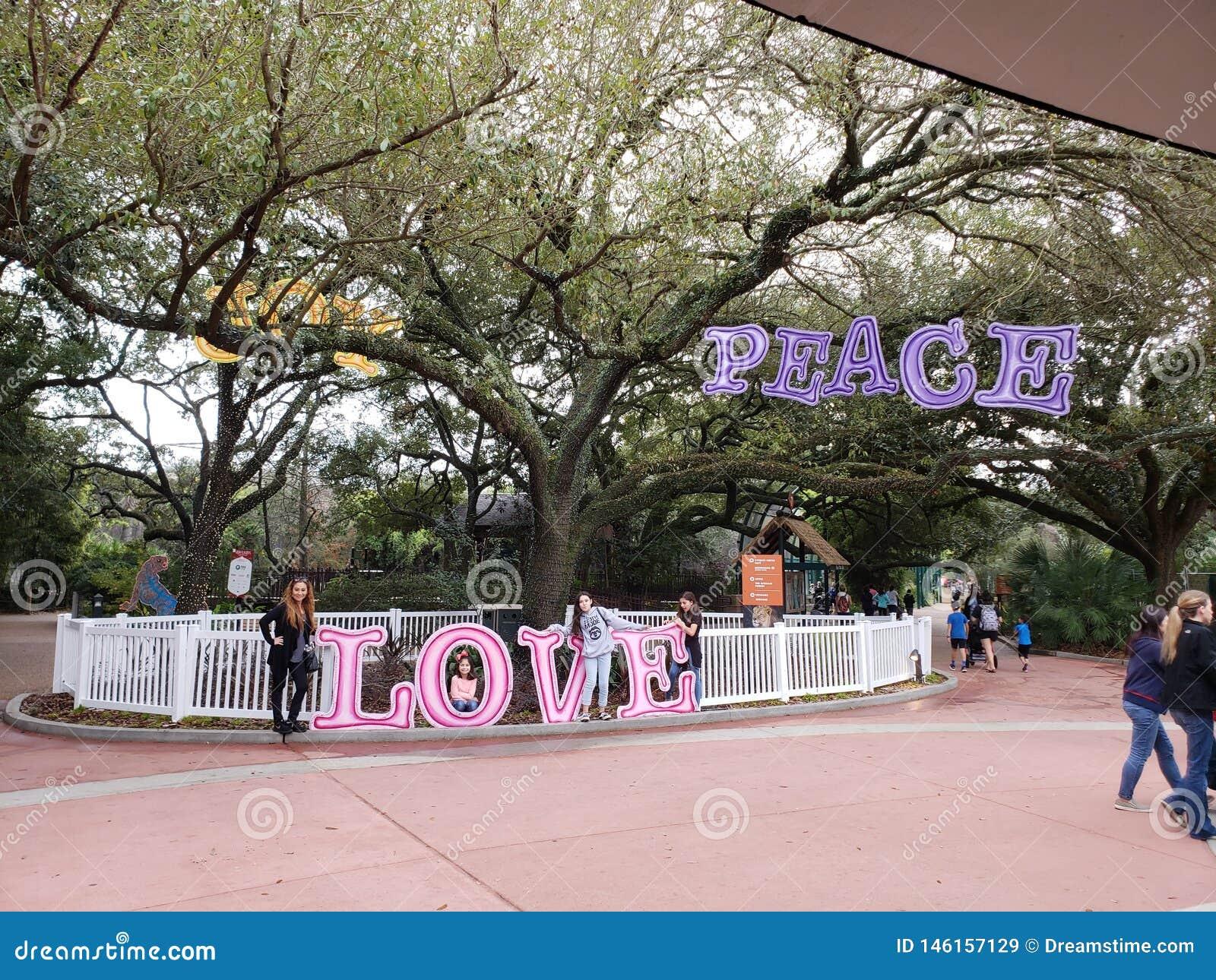 Feriados da família do jardim zoológico de Houston
