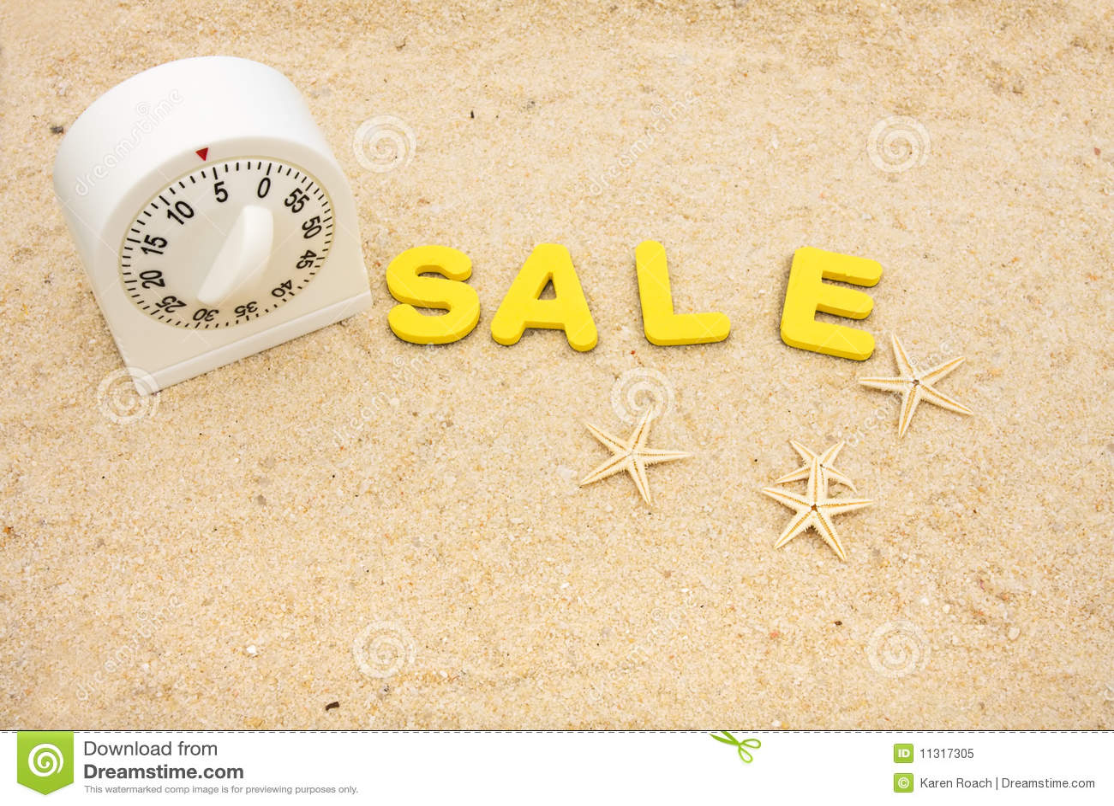 Ferien-Verkaufs-Zeit