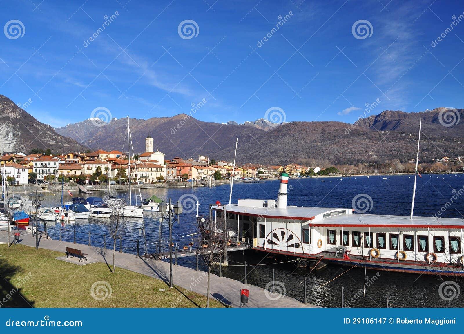 Feriolo por Baveno, Lago Maggiore, Italia