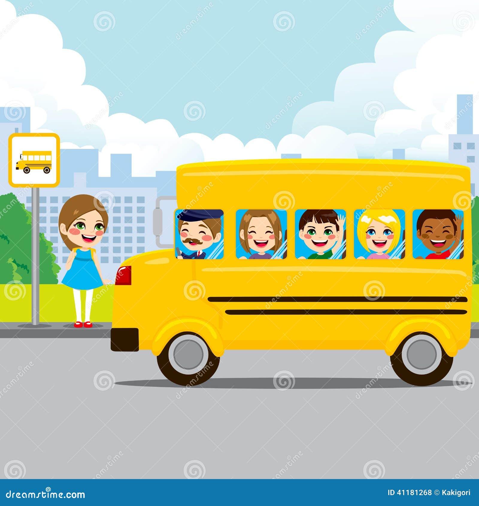fermata dello scuolabus illustrazione vettoriale route 66 clipart oklahoma route 66 clip art outline black and white