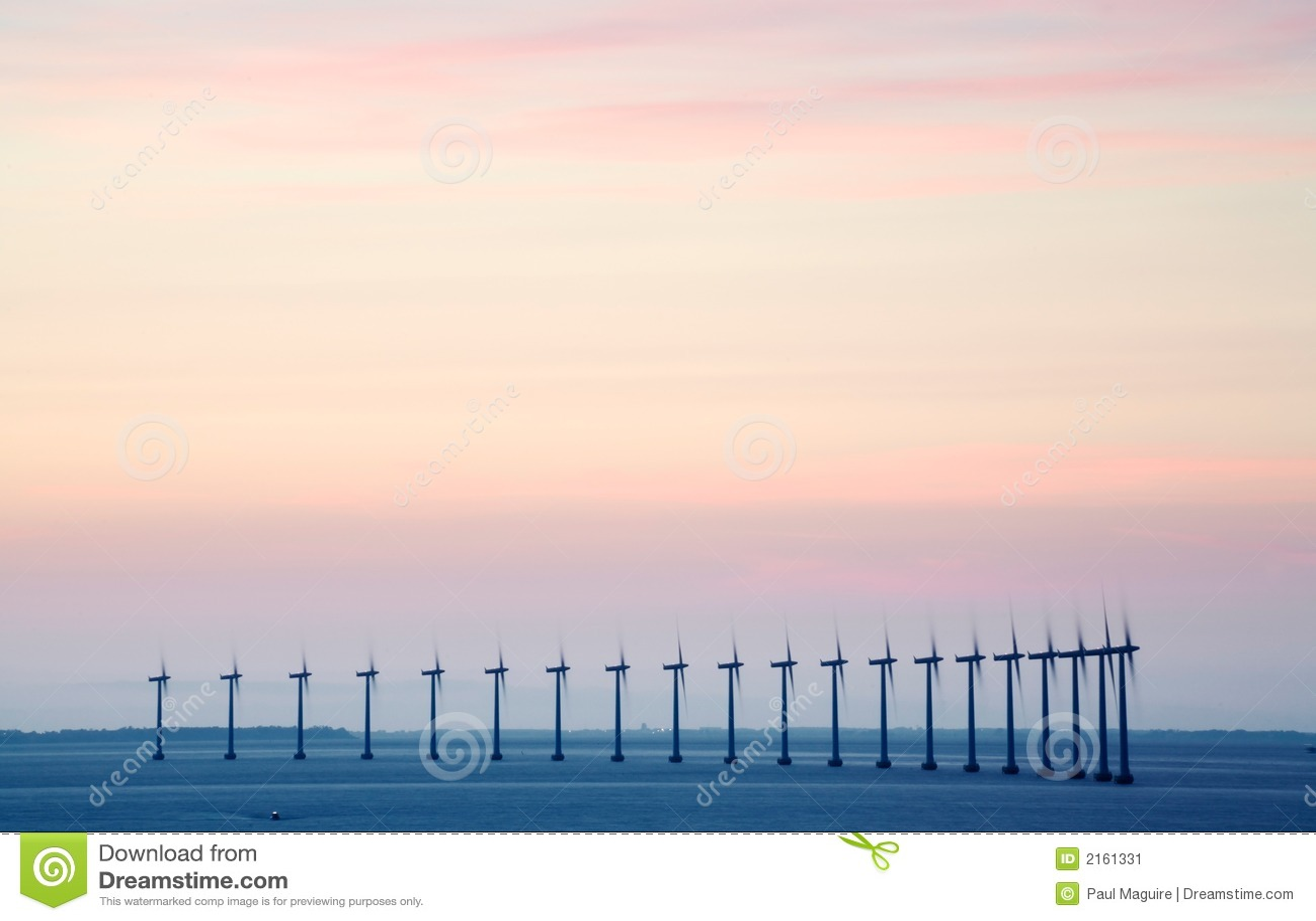 Ferme de vent extraterritorial