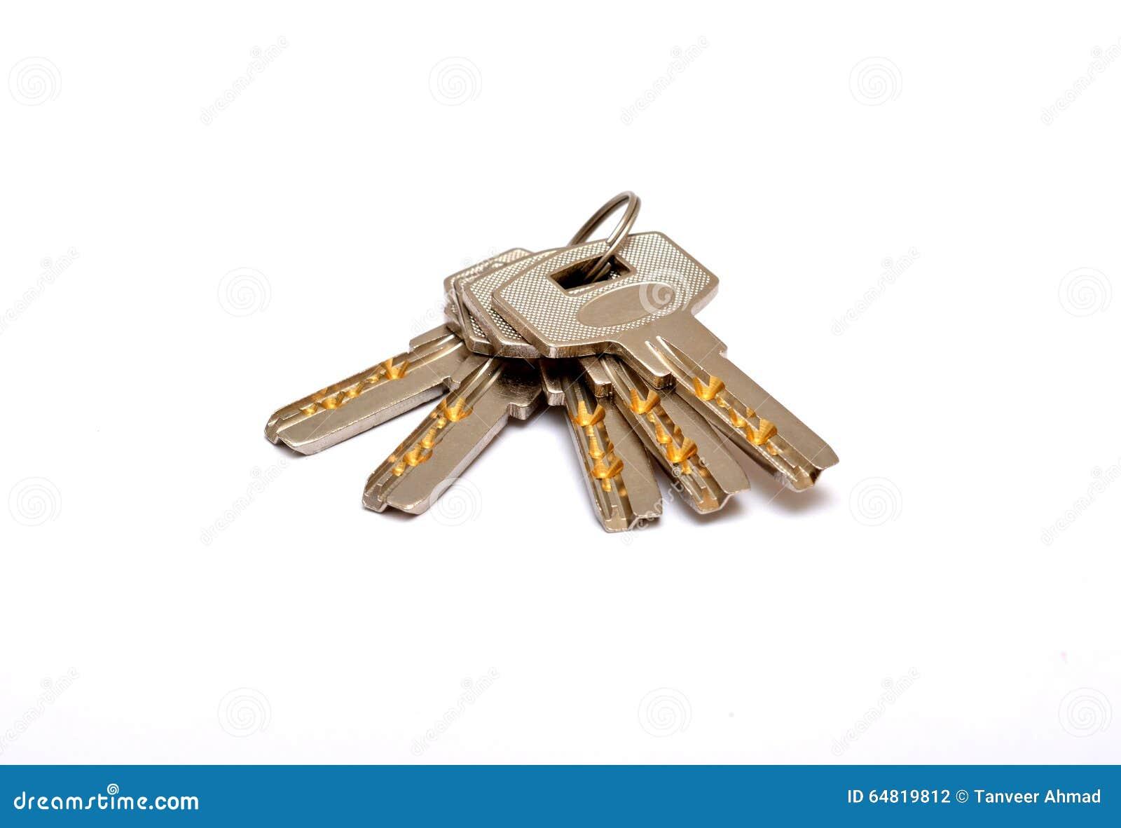 Fermez-vous des clés d isolement sur le concept à la maison blanc