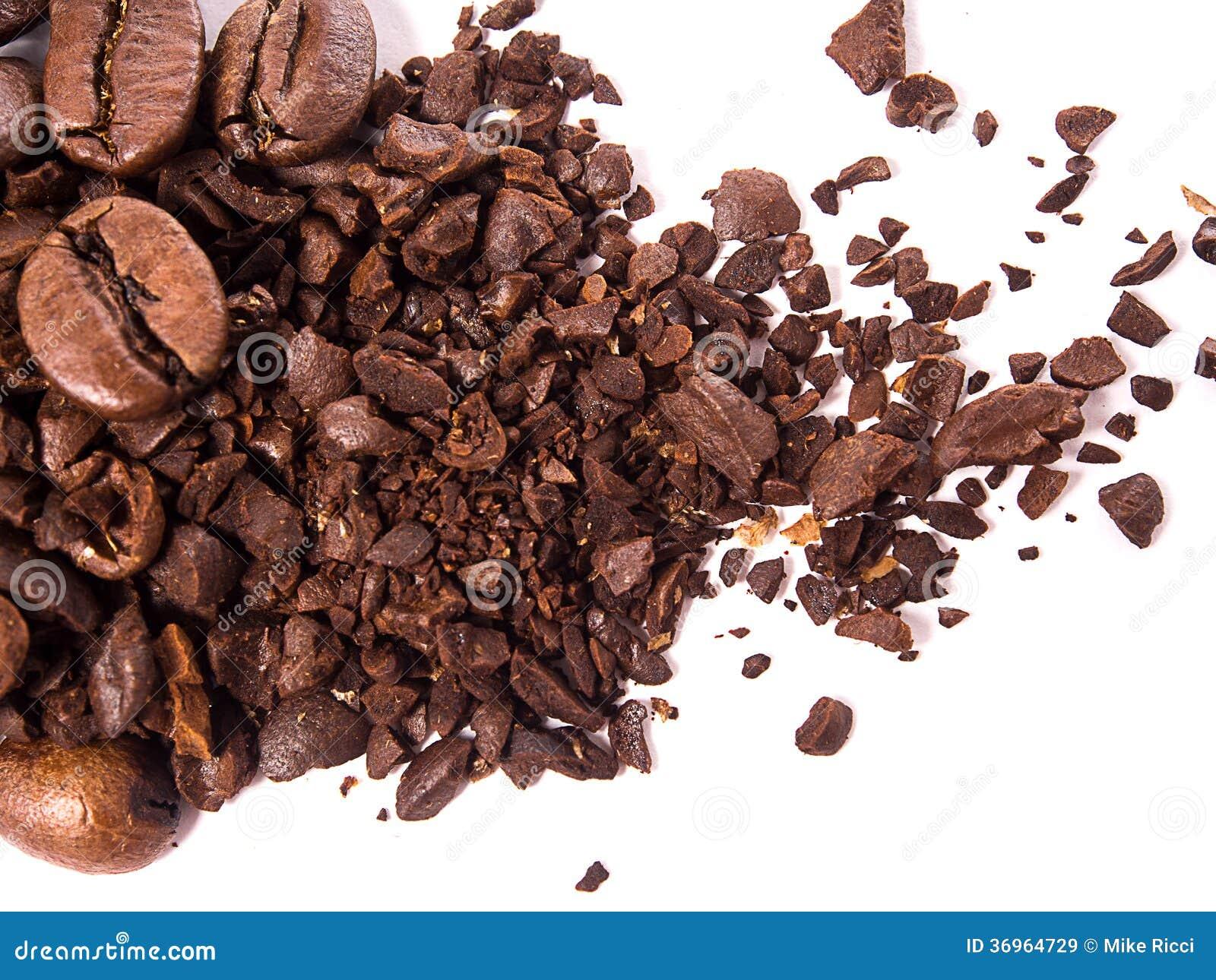 Fermez-vous des grains de café