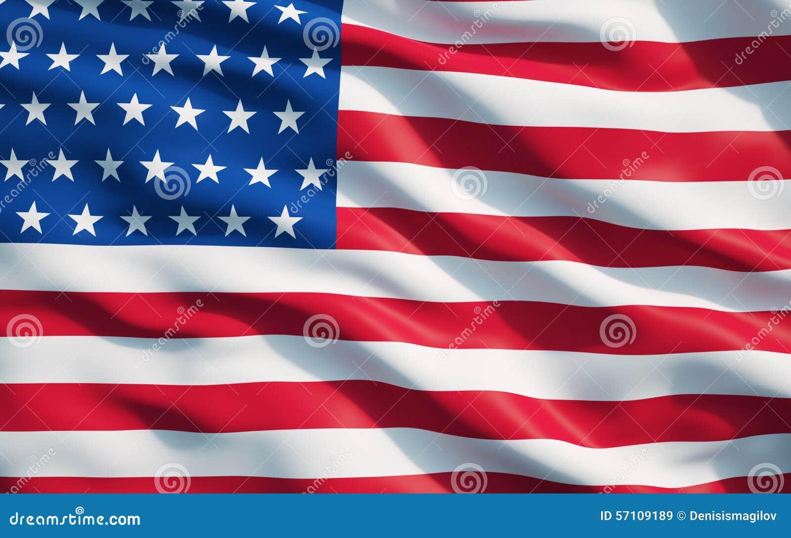Fermez vous du drapeau de l 39 tat uni de l 39 am rique image stock image 57109189 - Drapeau de l amerique ...