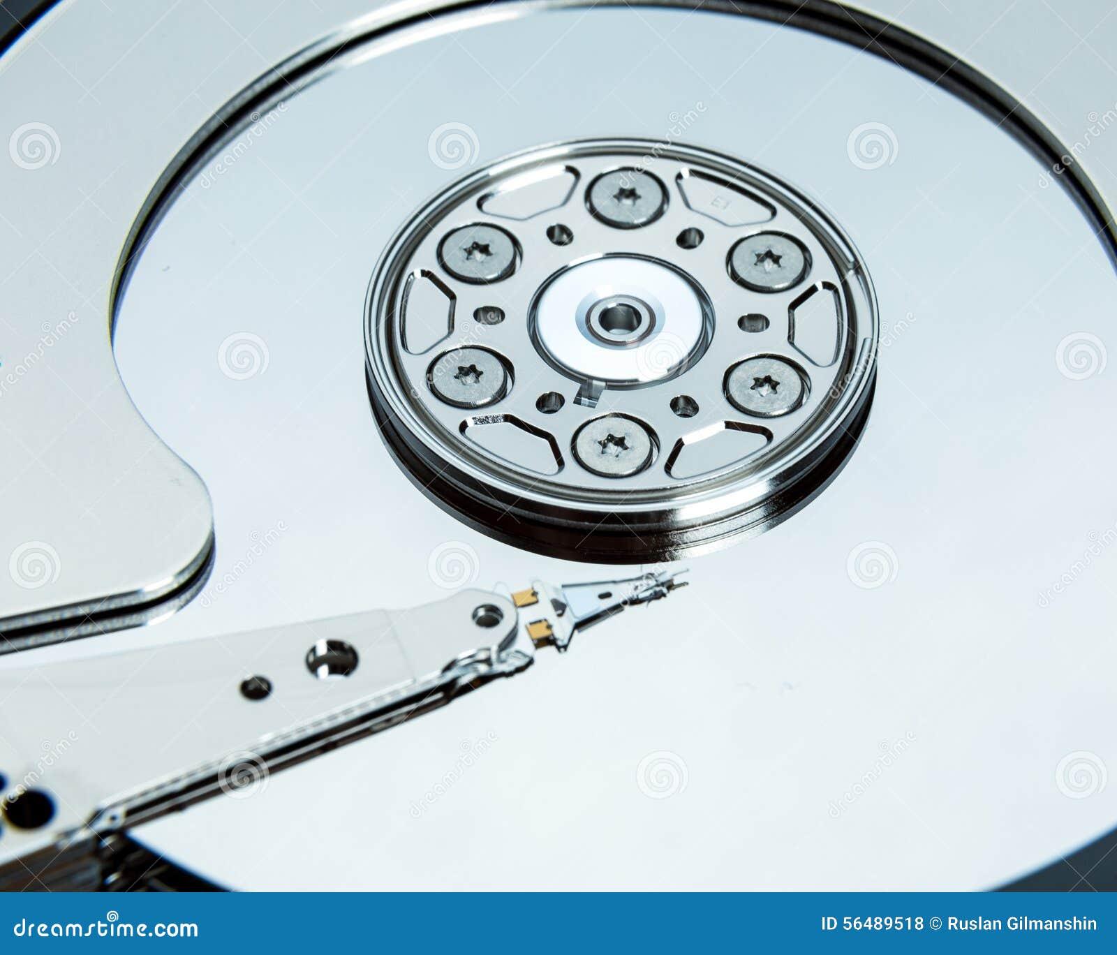 Fermez-vous du lecteur de disque dur ouvert d ordinateur