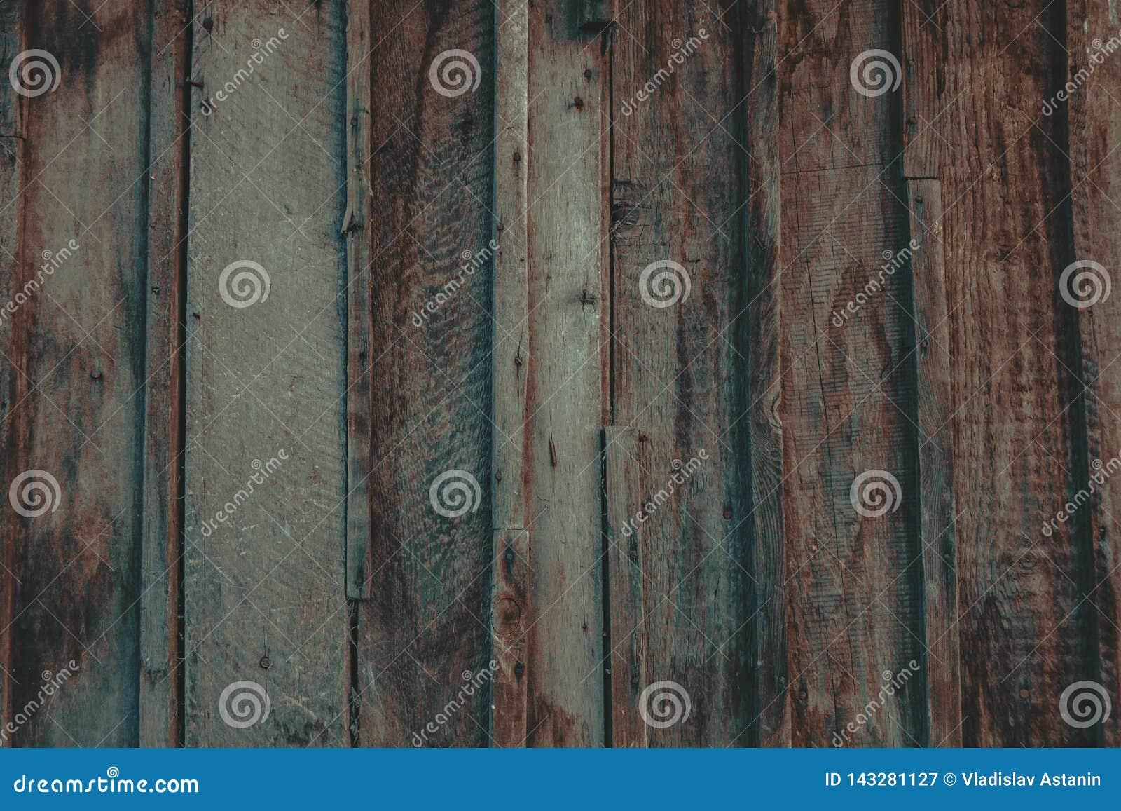 Fermez-vous du mur fait de planches en bois