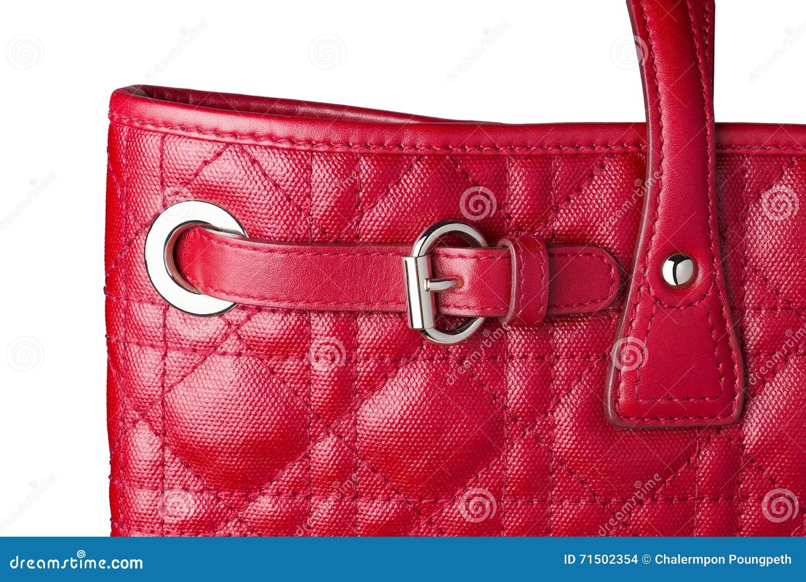 Main Boucle En Vous Rouge Femme La Cuir À De Sac Fermez Avec Du 6yfYb7g