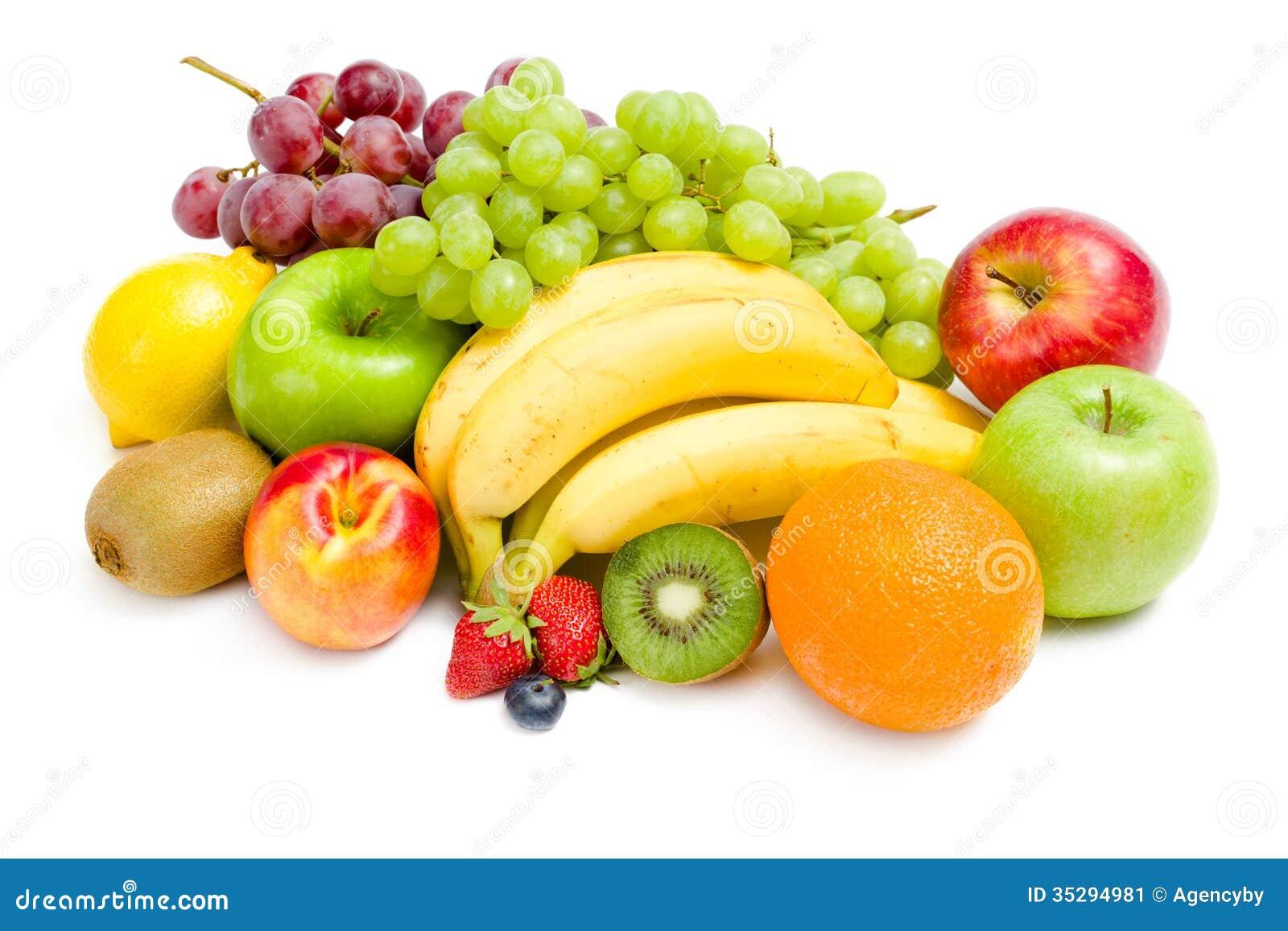 fermez vous vers le haut de la vue du tas du fruit image stock image du fond fruits 35294981. Black Bedroom Furniture Sets. Home Design Ideas