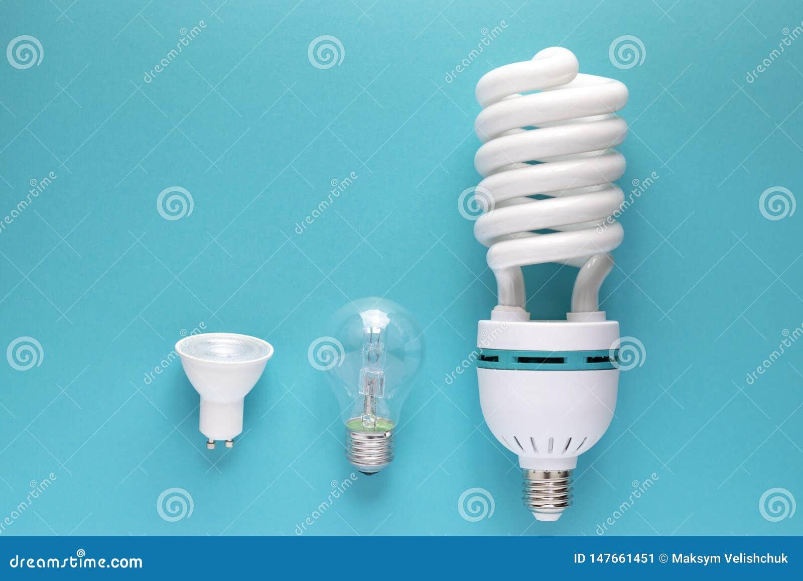 Fermez-vous vers le haut de la vue de l ampoule blanche