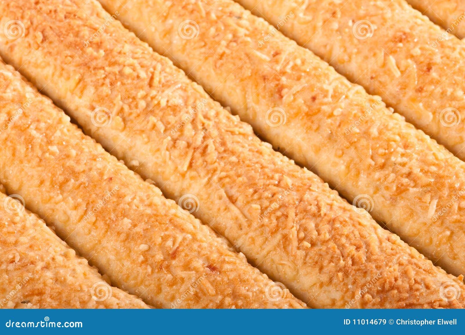 Fermez-vous vers le haut des batons de pain