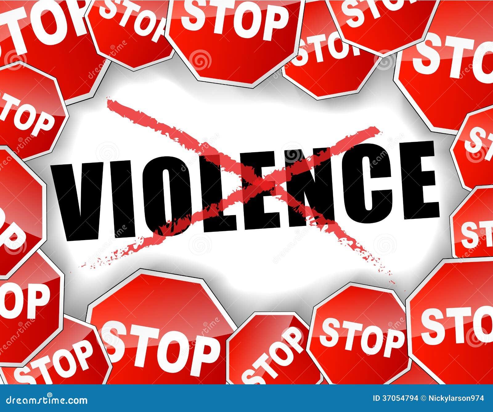Fermi la violenza
