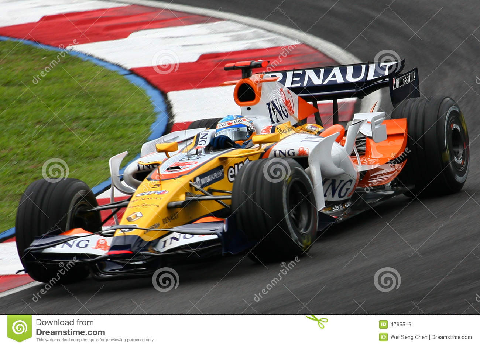 Fernando Alonso, ING Renault F1 Team