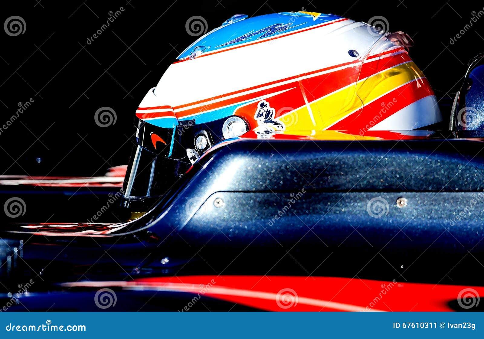 FERNANDO ALONSO (McLAREN HONDA) - F1 TEST Editorial Photo ...