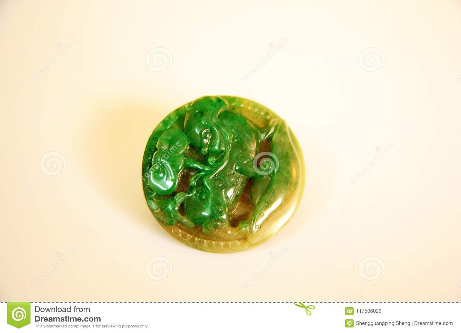 Jade carving: MyD wild animal