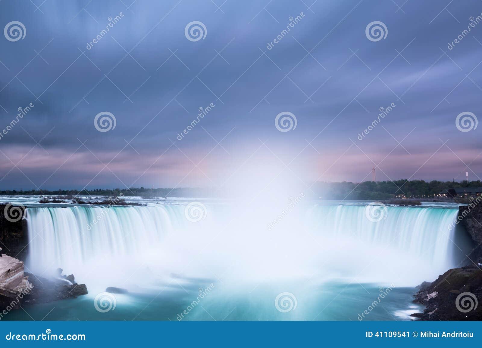 A ferradura cai em Niagara Falls