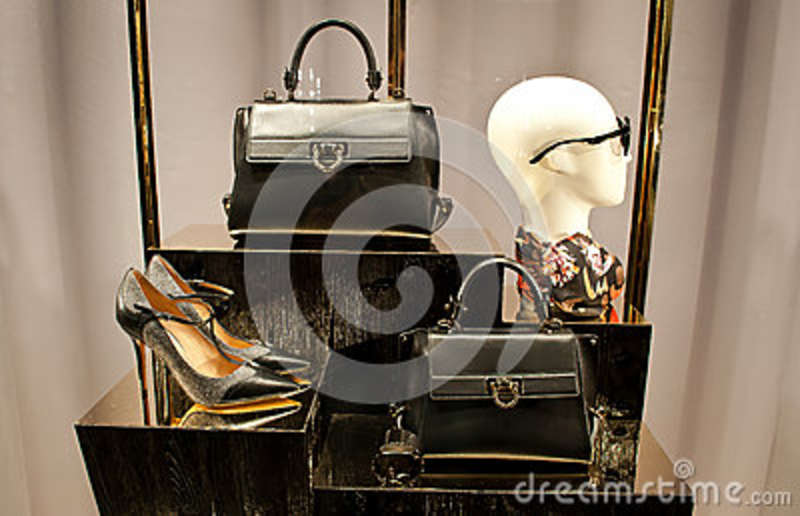 Ferragamo Women Shoes And Bags Editorial Photography Image Of