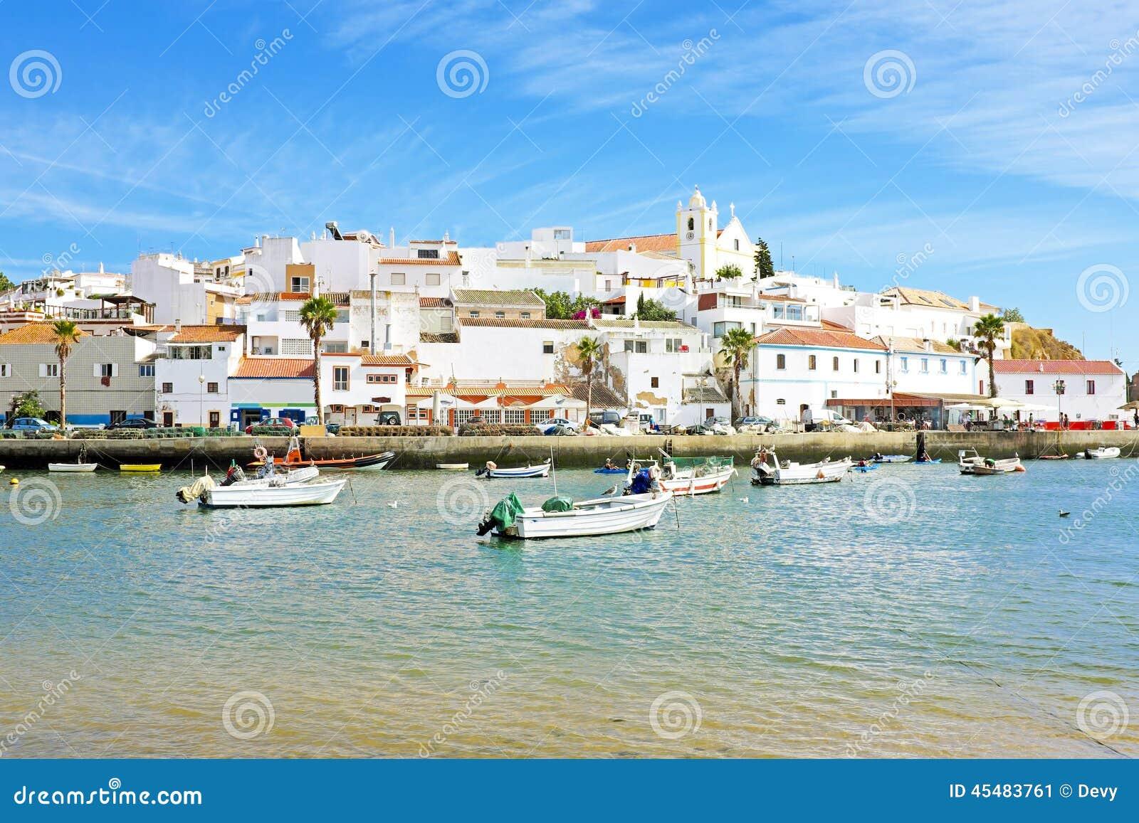 Ferragudo在阿尔加威葡萄牙