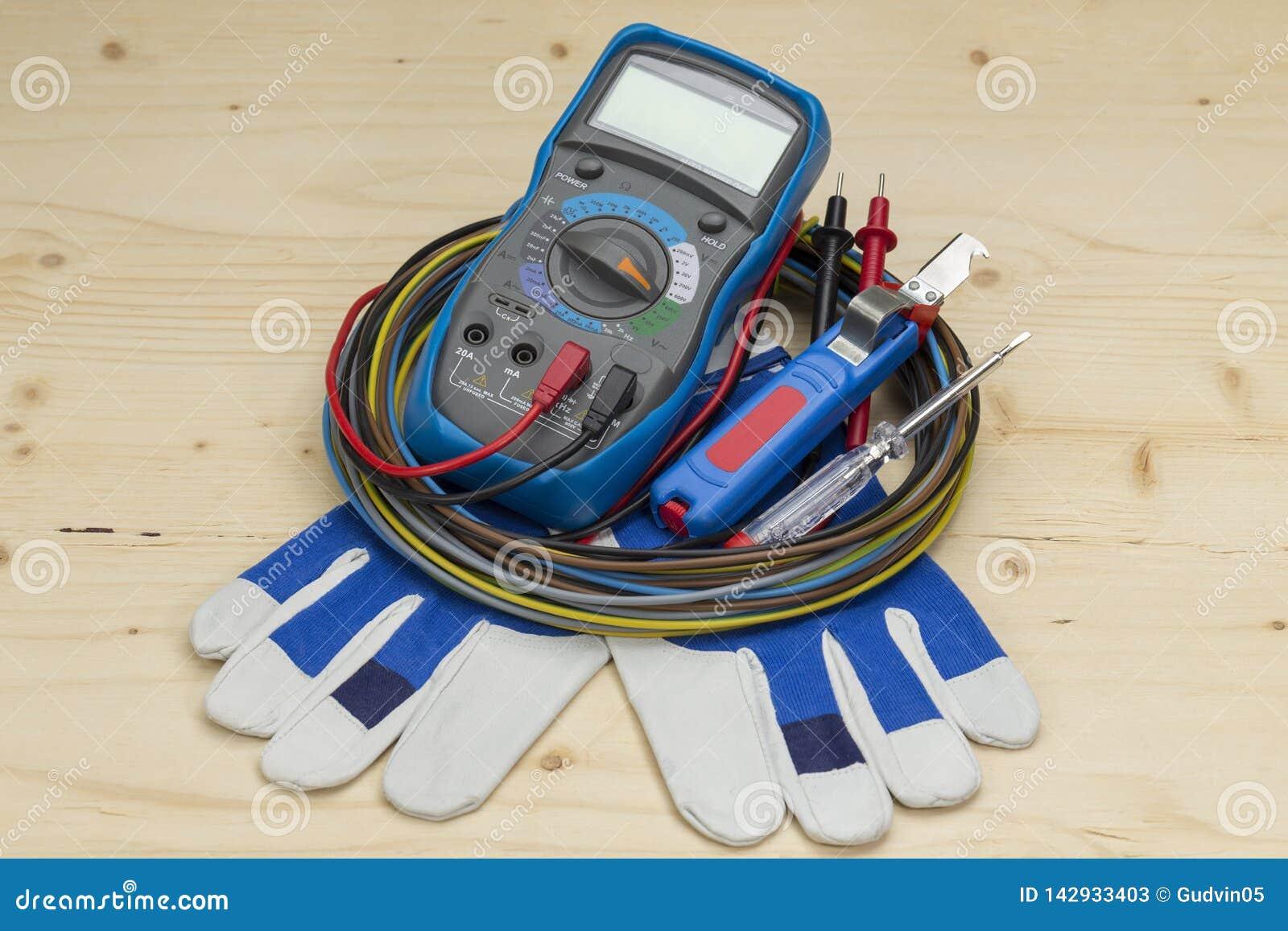 Ferramenta elétrica do dispositivo de medição do multímetro