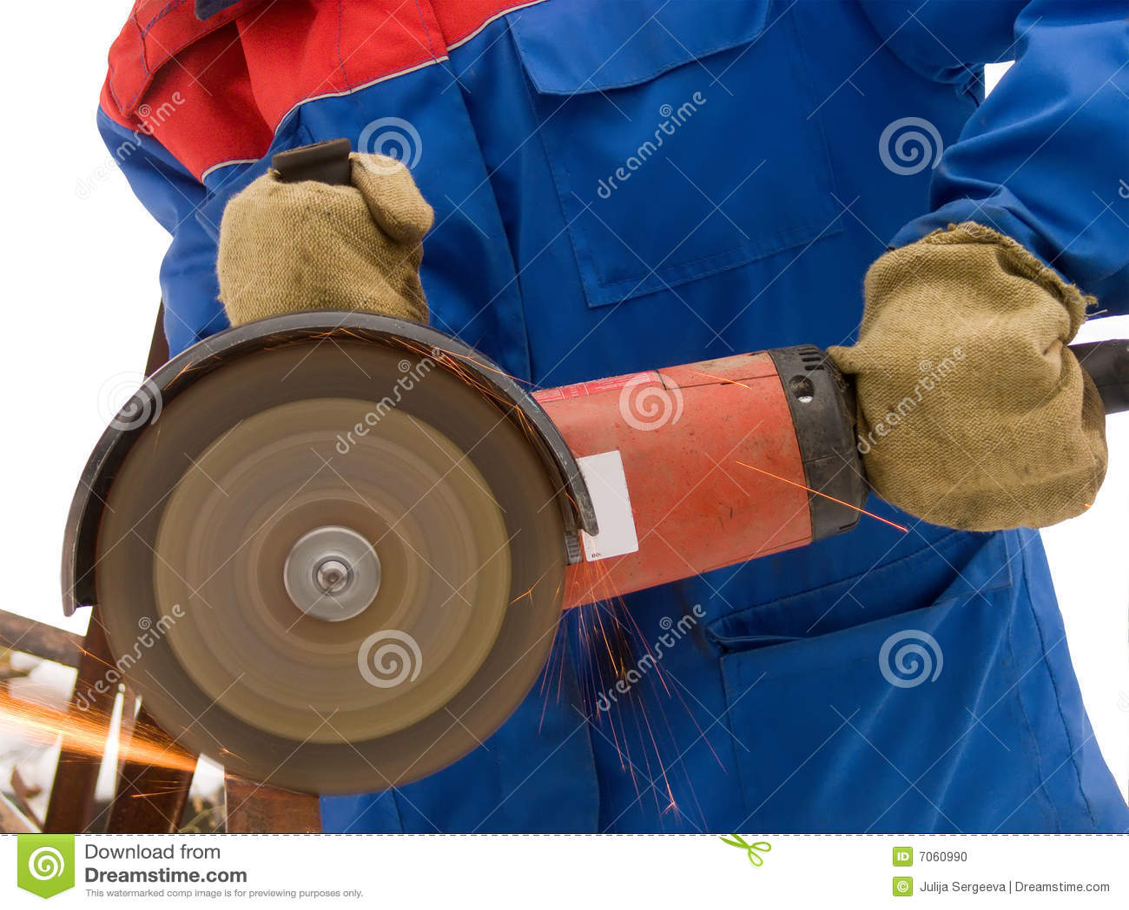 A ferramenta elétrica para é metal afiado