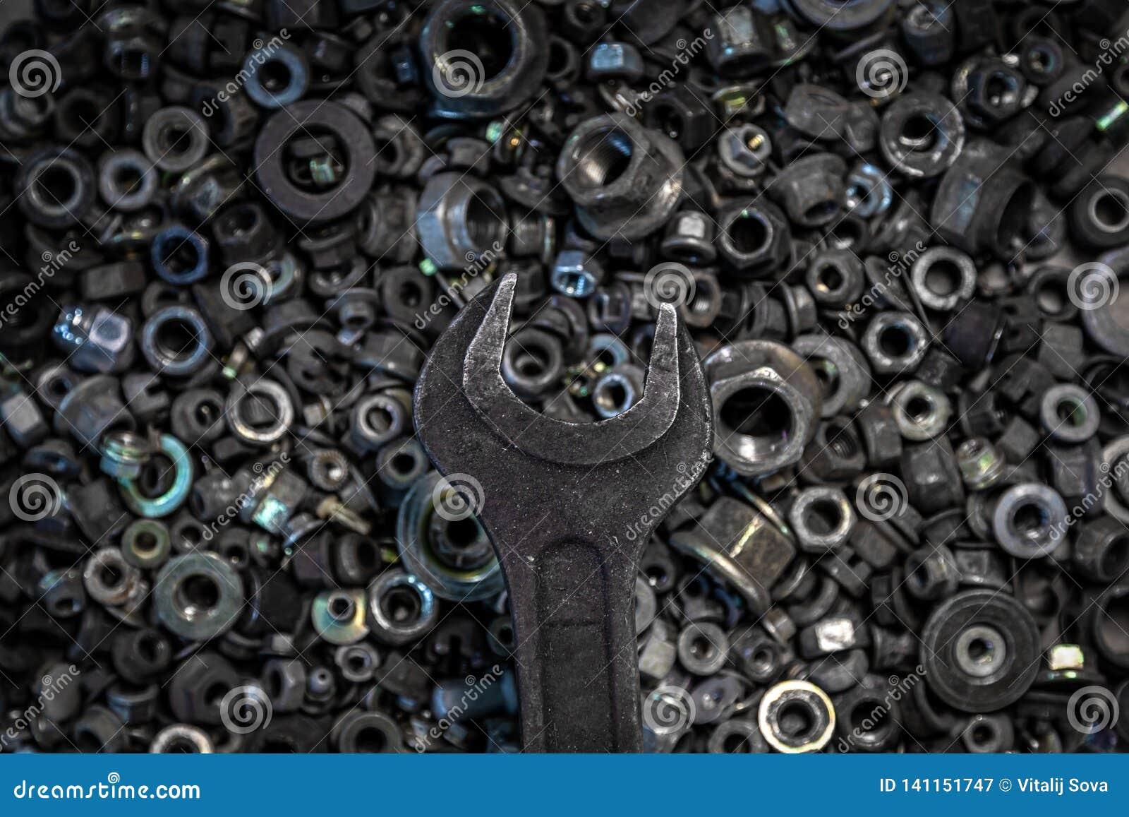 Ferramentas colocadas lisas do metal