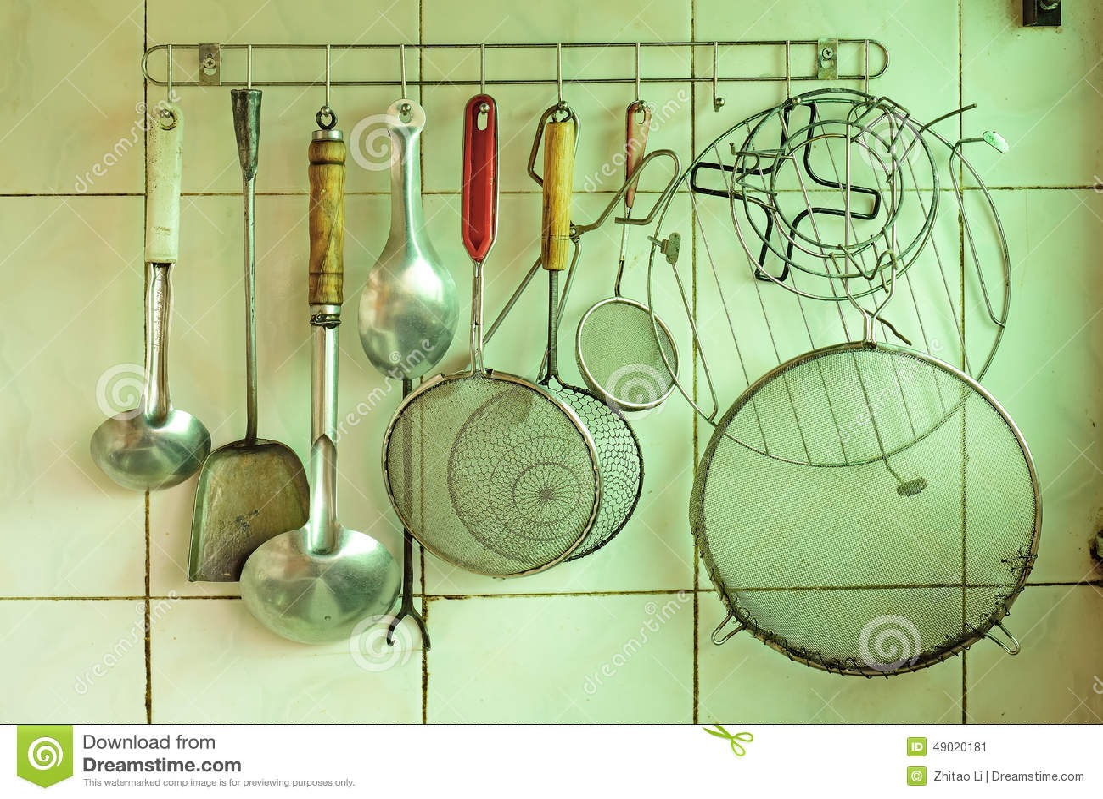 Ferramentas da cozinha