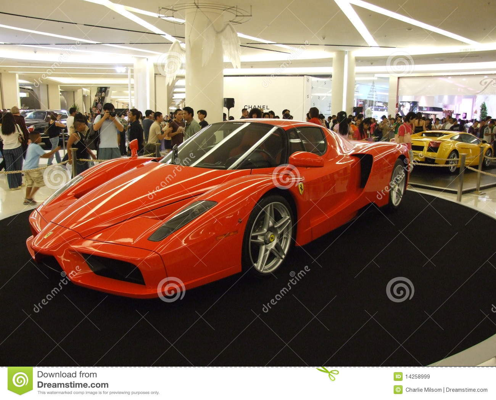 Ferrari Ταϊλάνδη παρουσίασης τη&s