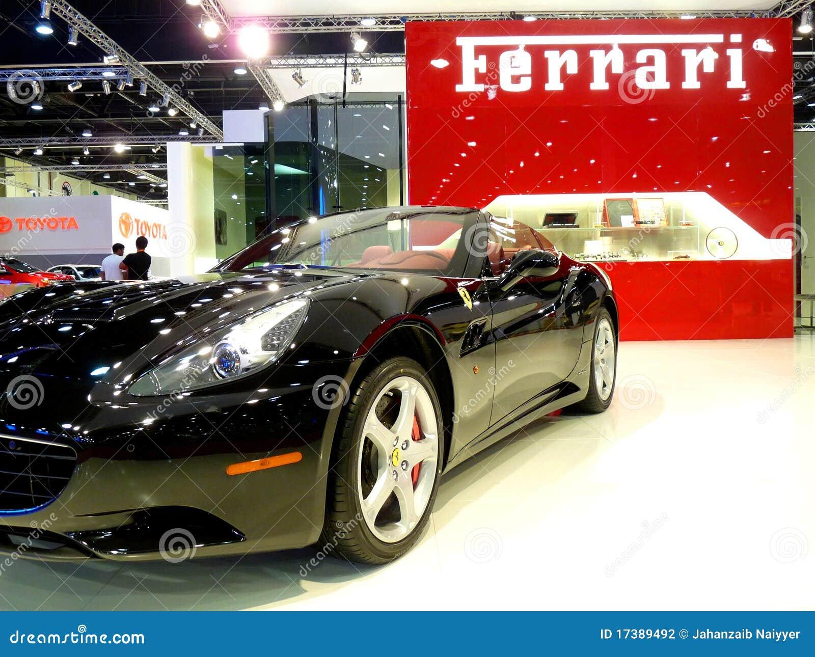 Ferrari California Black Editorial Photography Image Of Concept 17389492