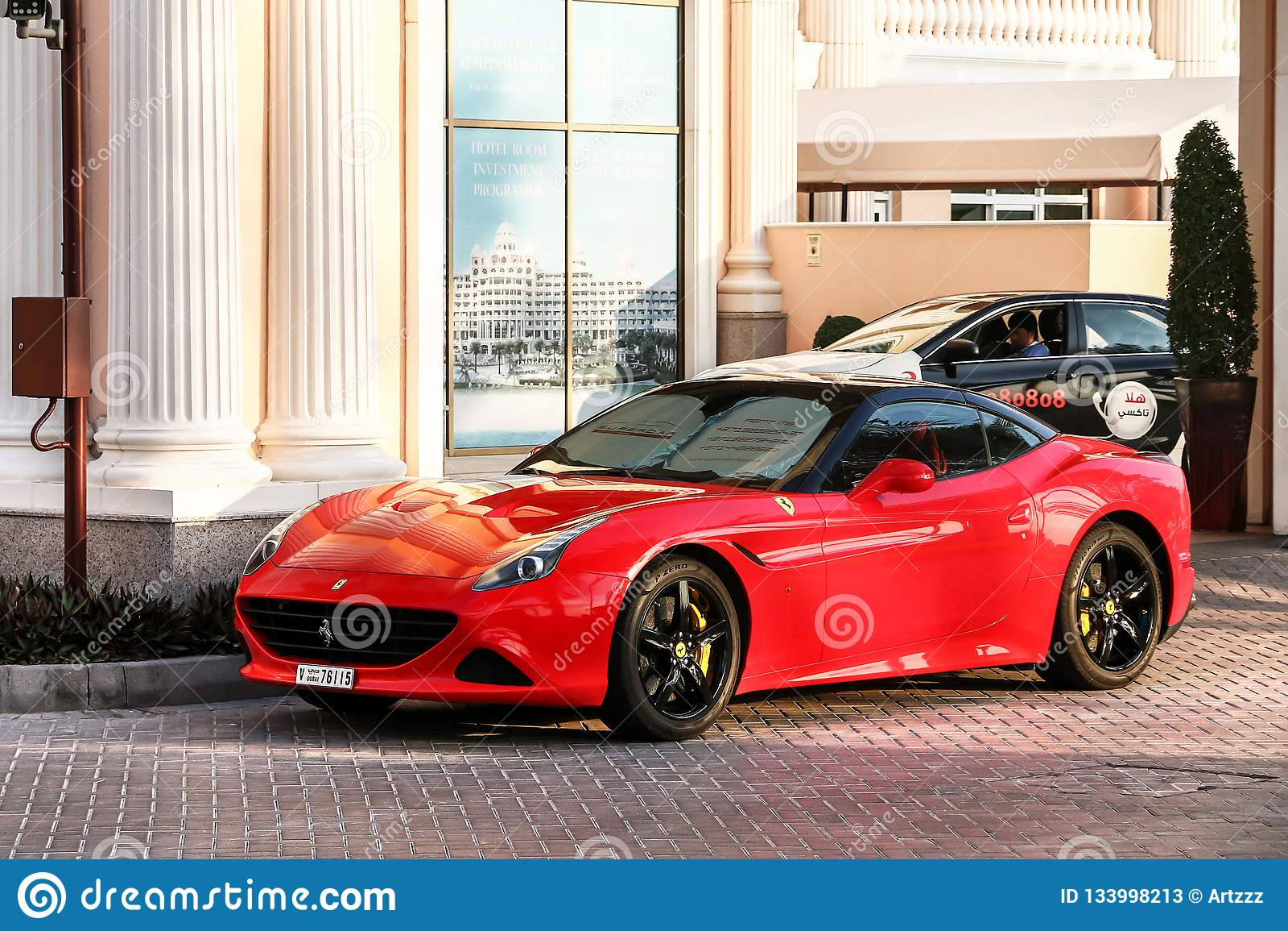 Ferrari California T Editorial Stock Photo Image Of Hardtop 133998213