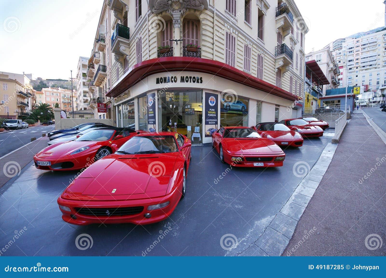 Ferrari Car Dealer Monaco Motors Editorial Image Image 49187285