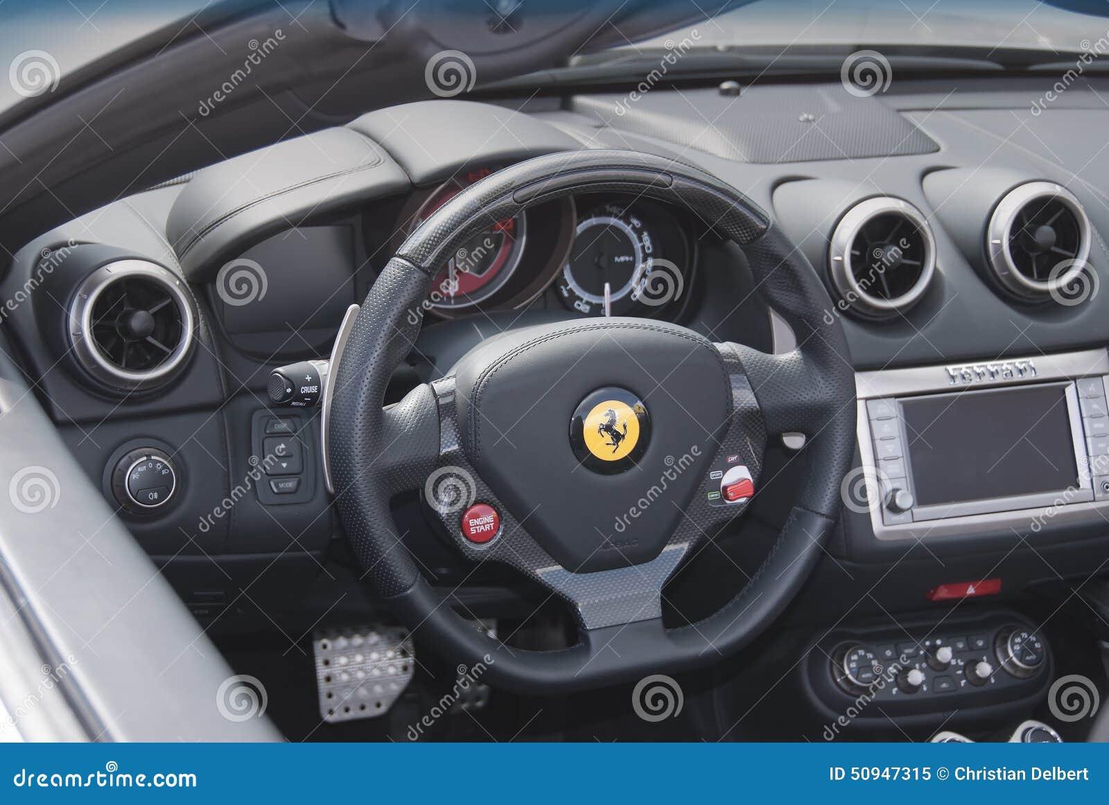 Ferrari Dashboard And Interior Editorial Image Image Of Interior
