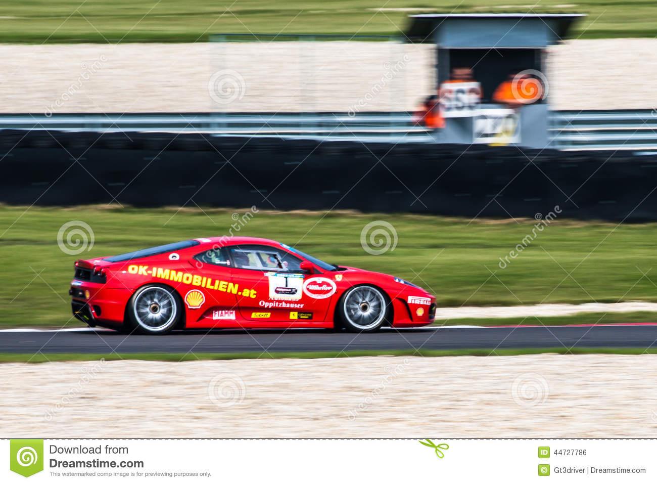 ferrari f430 editorial photo image of racing saleen 44727786. Black Bedroom Furniture Sets. Home Design Ideas