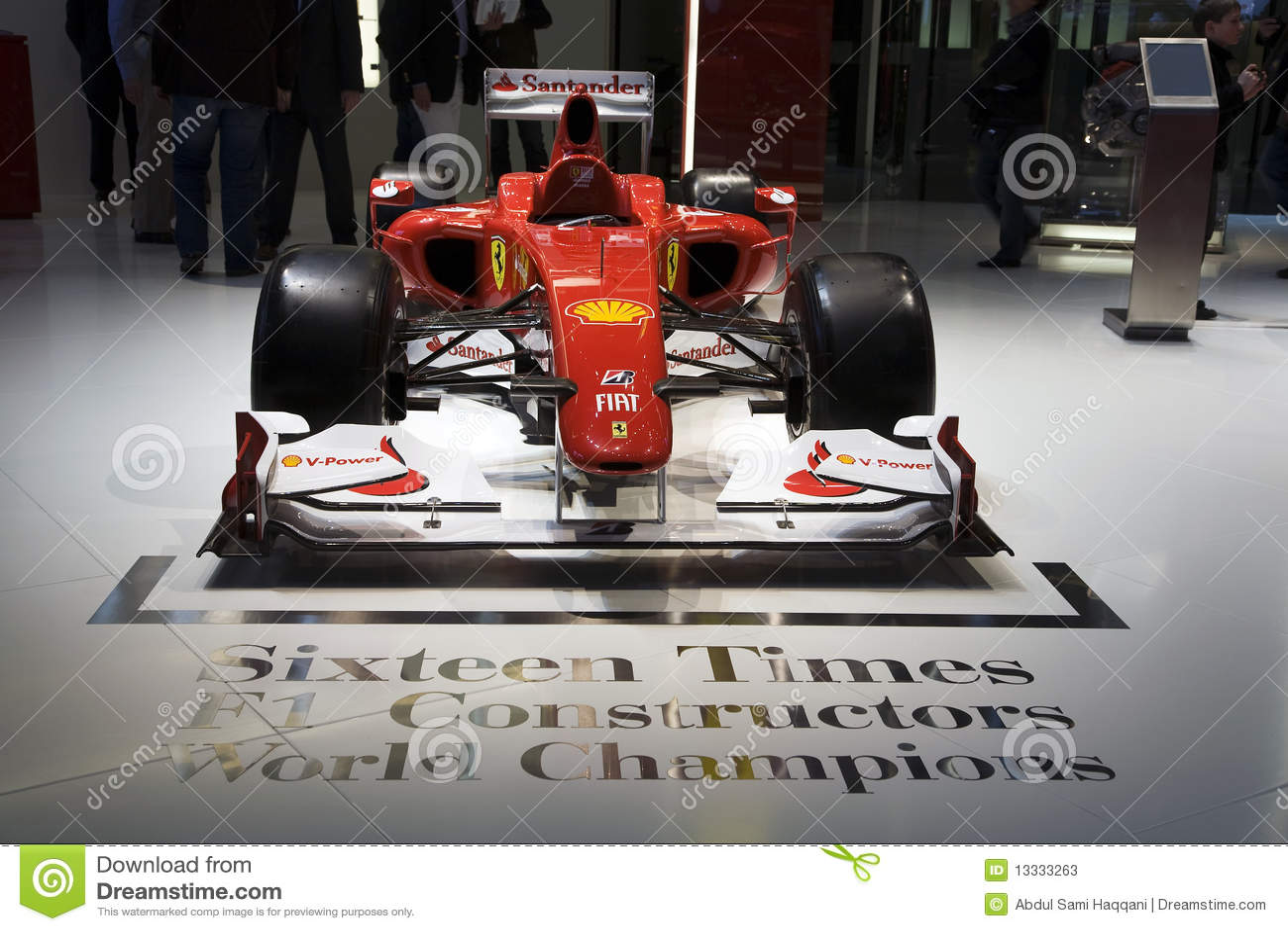 Ferrari F10 Formula One