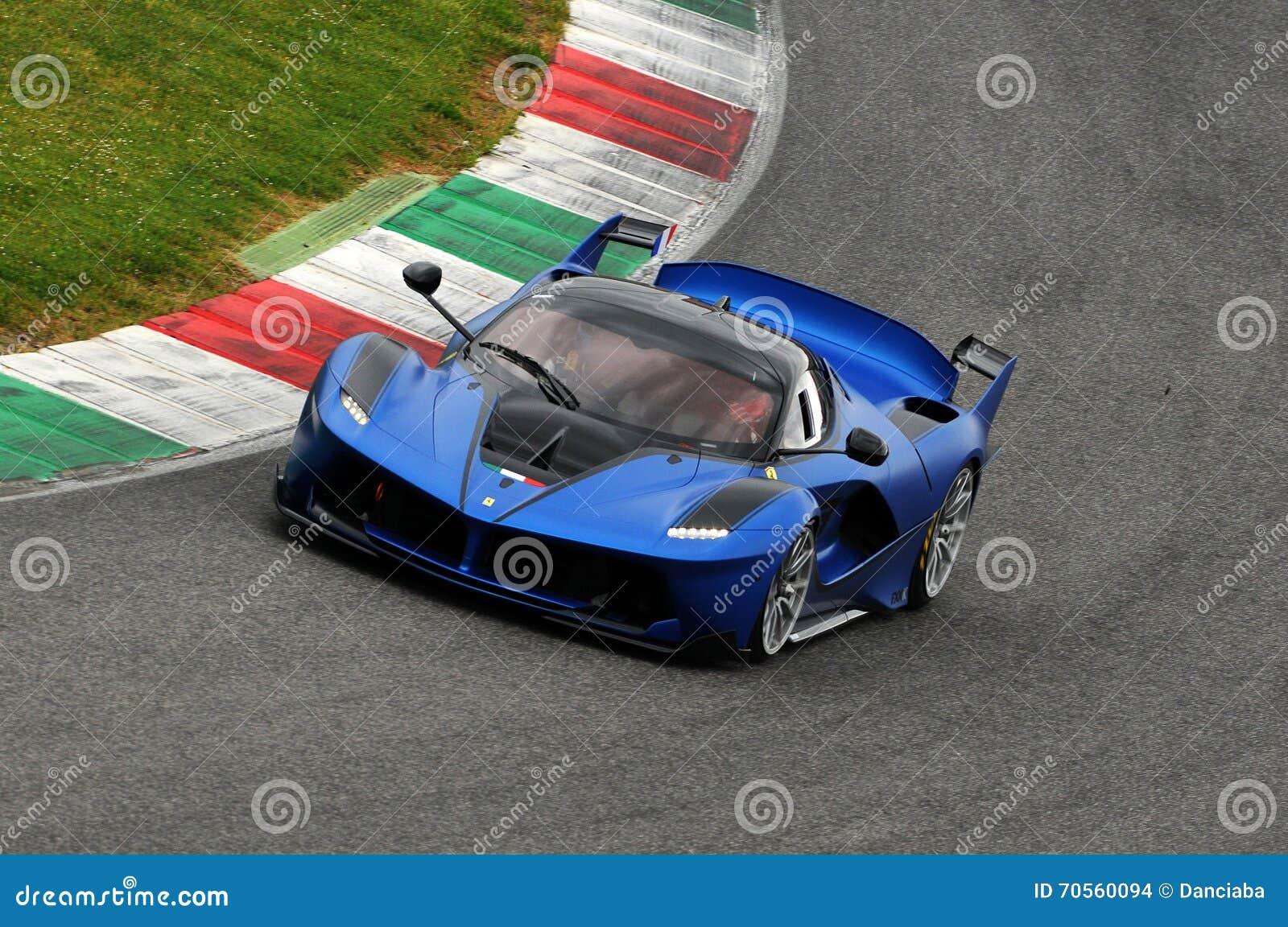 Circuito Del Mugello : Ferrari fxx k test al mugello 2016 editorial stock image image of
