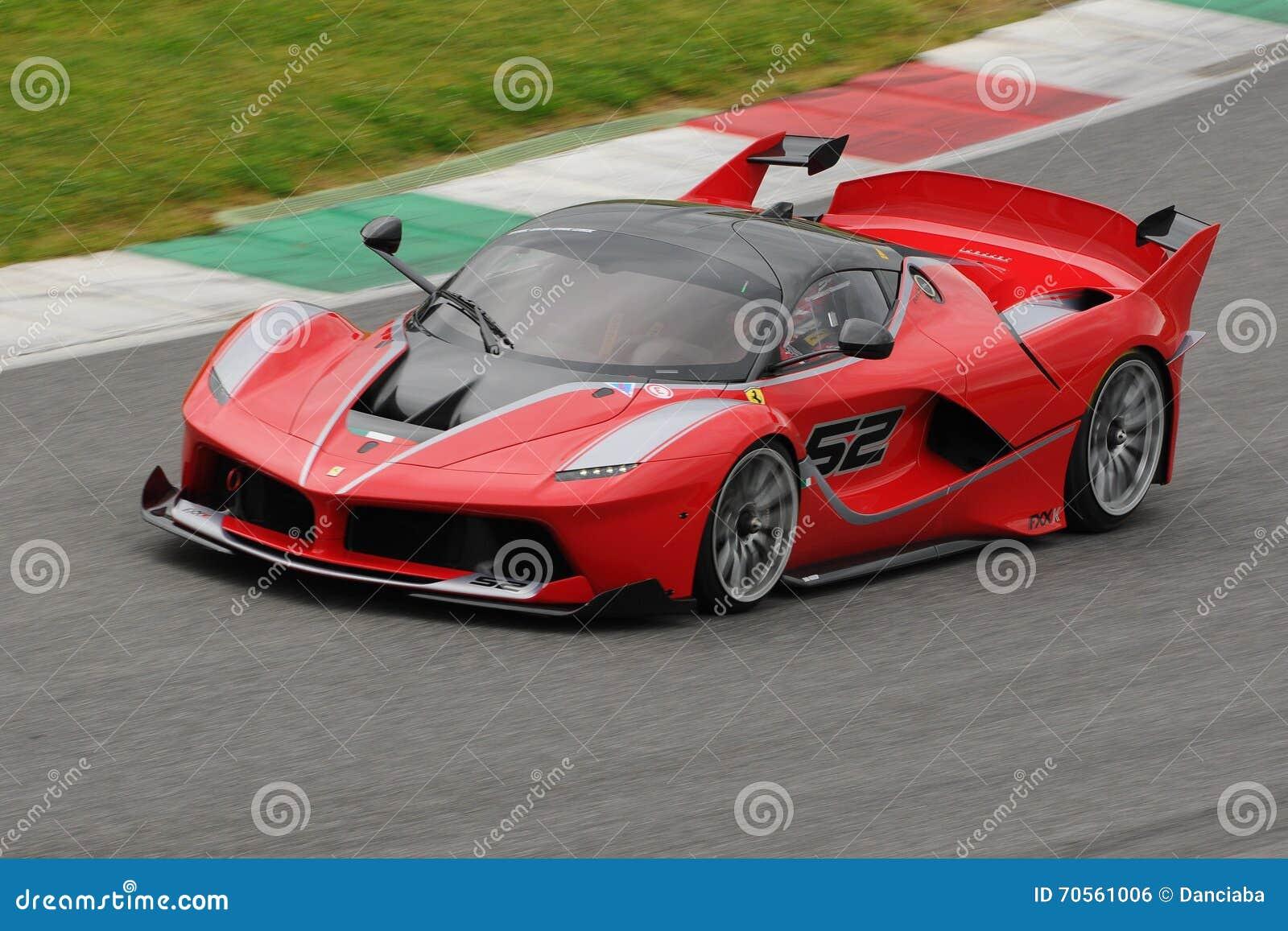 Circuito Del Mugello : Ferrari fxx k test al mugello 2016 editorial photo image of