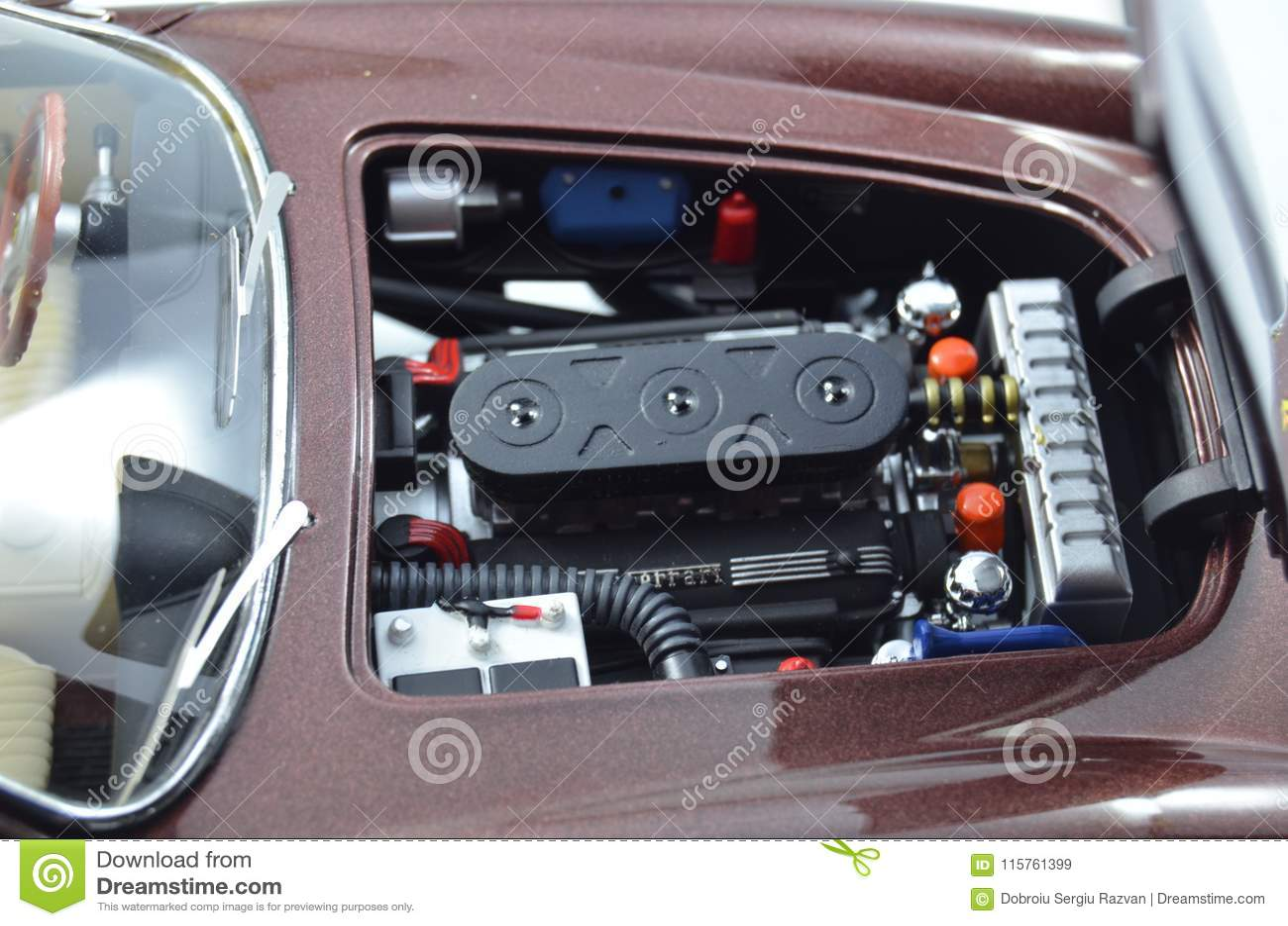 Ferrari 250gt Berlintta Lusso Steve Mcqueen 1 18 Hotwheels Elite Model Car Engine Bay Editorial Stock Image Image Of Collector Berlintta 115761399