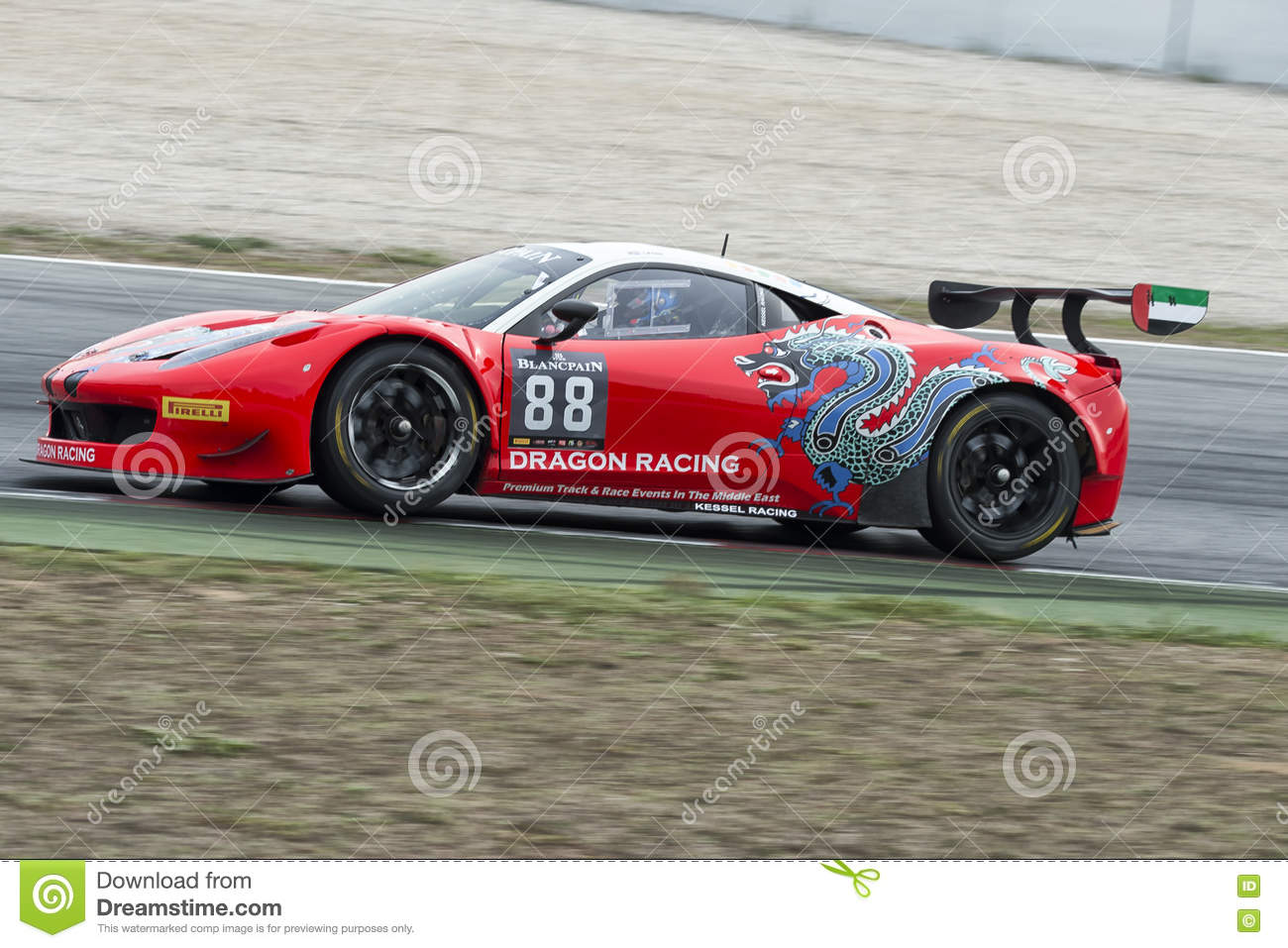 Ferrari 458 Gt3 Blancpain Gt Series Championship Editorial Photo Image Of Action Engine 78113691