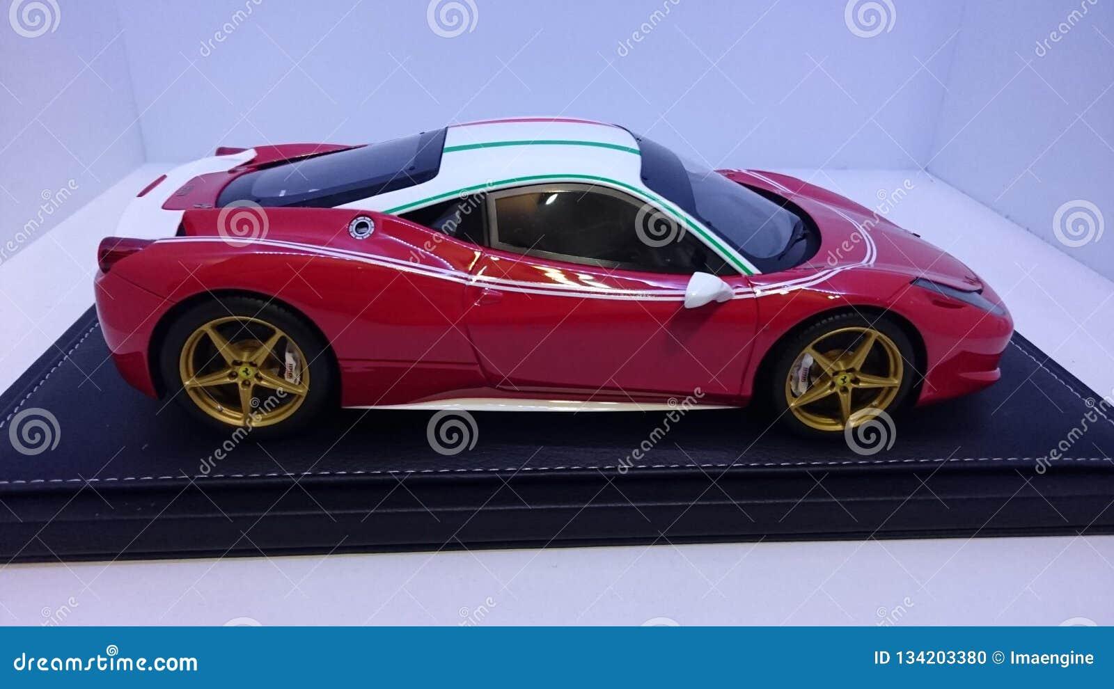 Ferrari 458 Gtb Italia Niki Lauda Side View Editorial Image Image Of Side Preparation 134203380