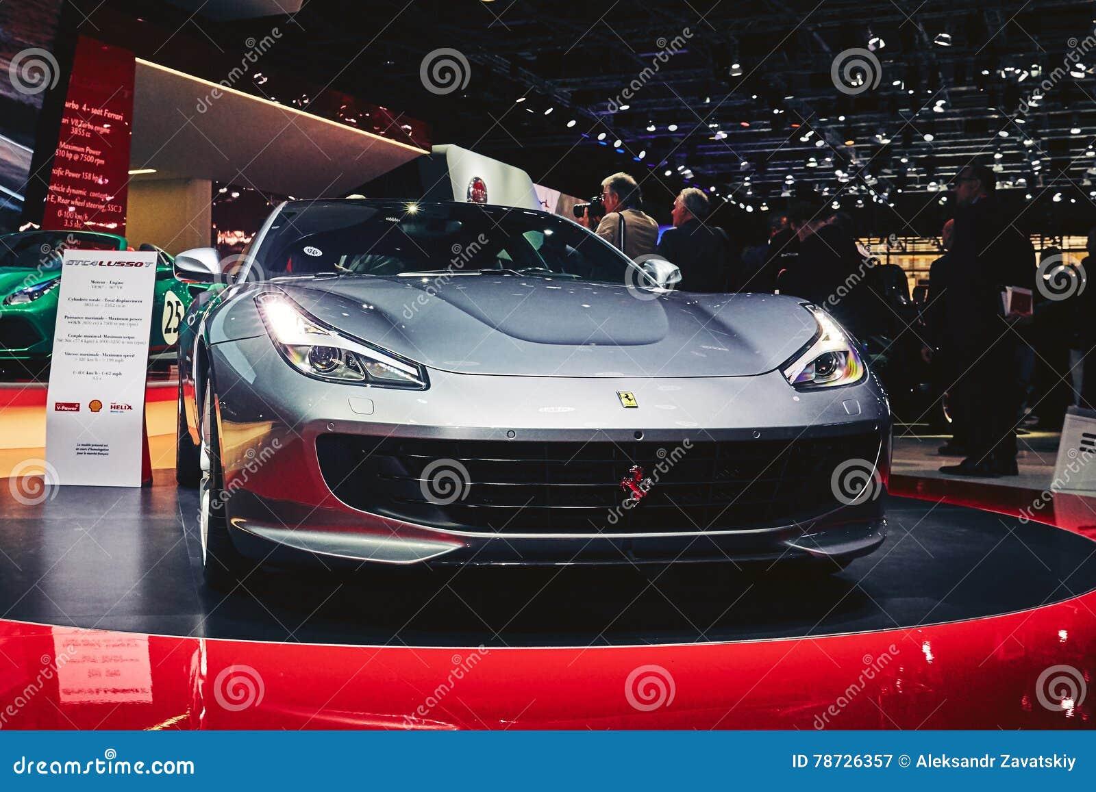 Ferrari 2017 GTC4 Lusso T
