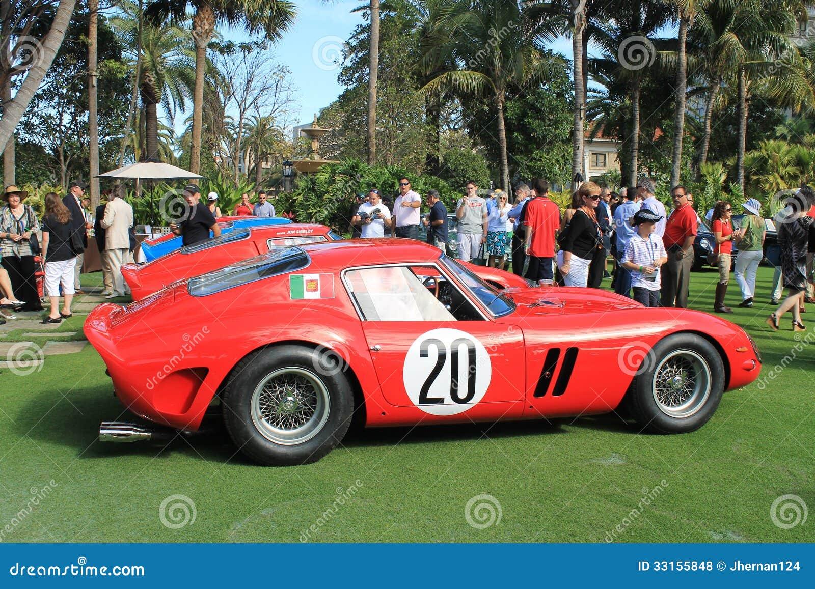 Ferrari 250 Gto Racecar Side Editorial Stock Photo Image Of Kamm Hotel 33155848