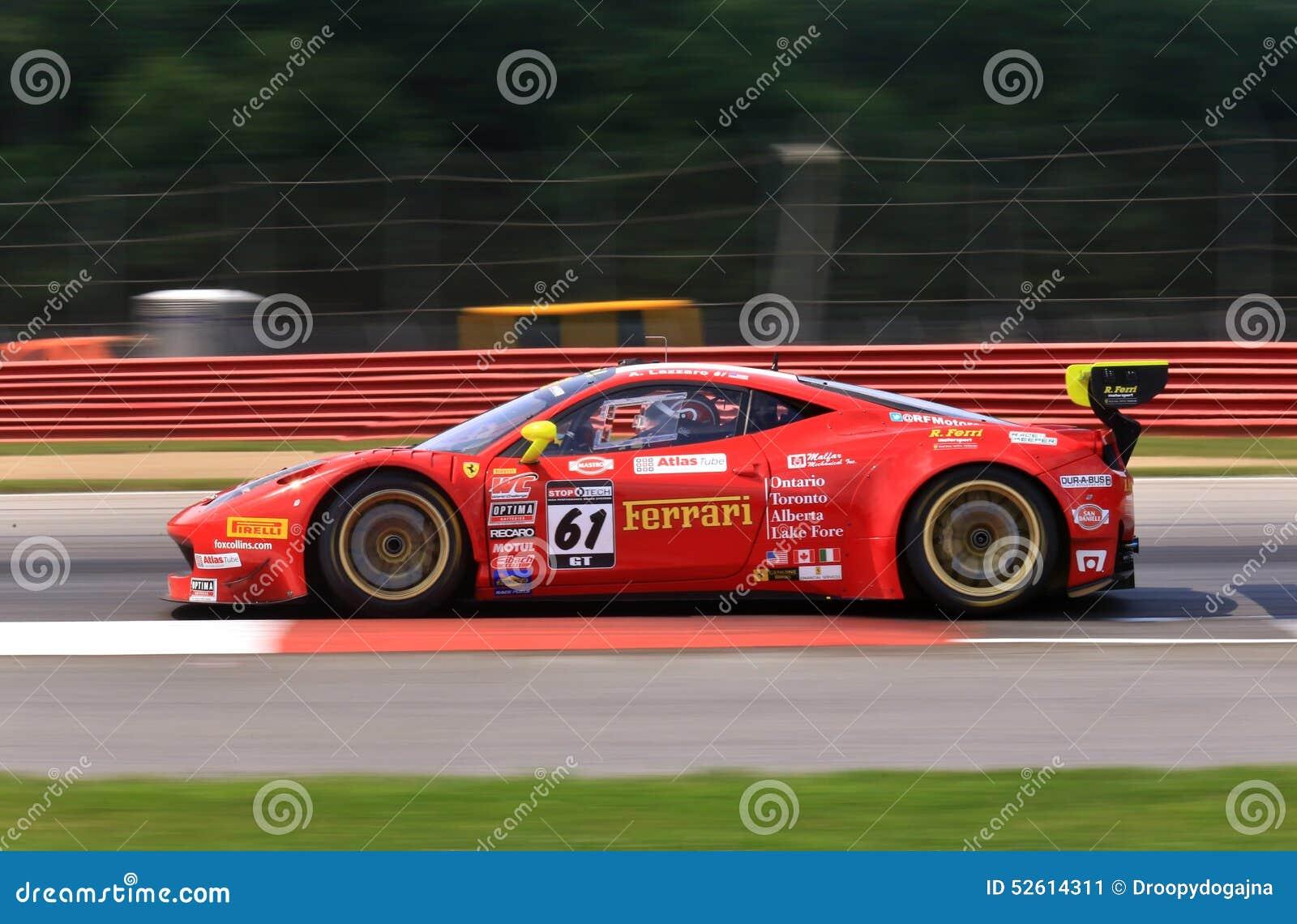 Ferrari 458 Italia Gt3 Foto Editorial Imagen De Italia 52614311