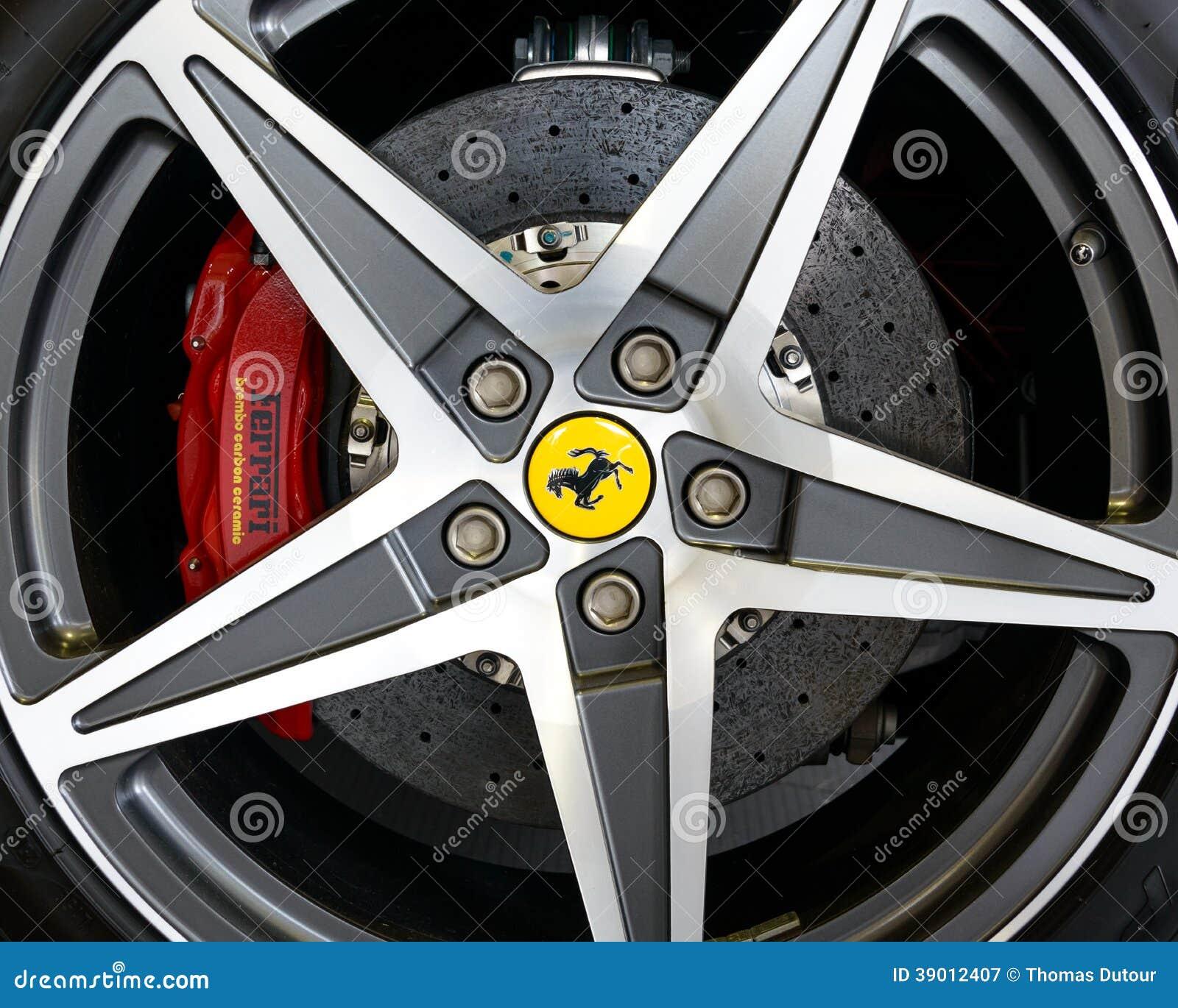 Ferrari Kalifornien legerings- och kolbroms