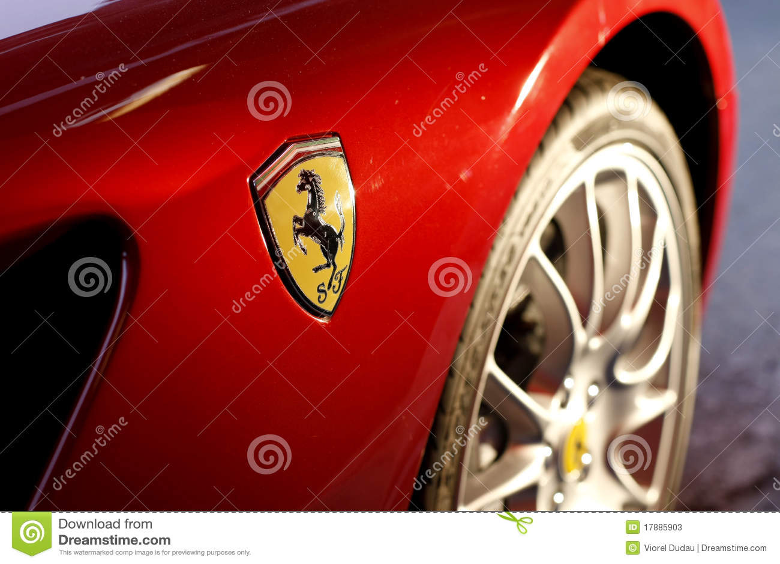 Ferrari Logo Editorial Stock Photo Image Of Power Automotive