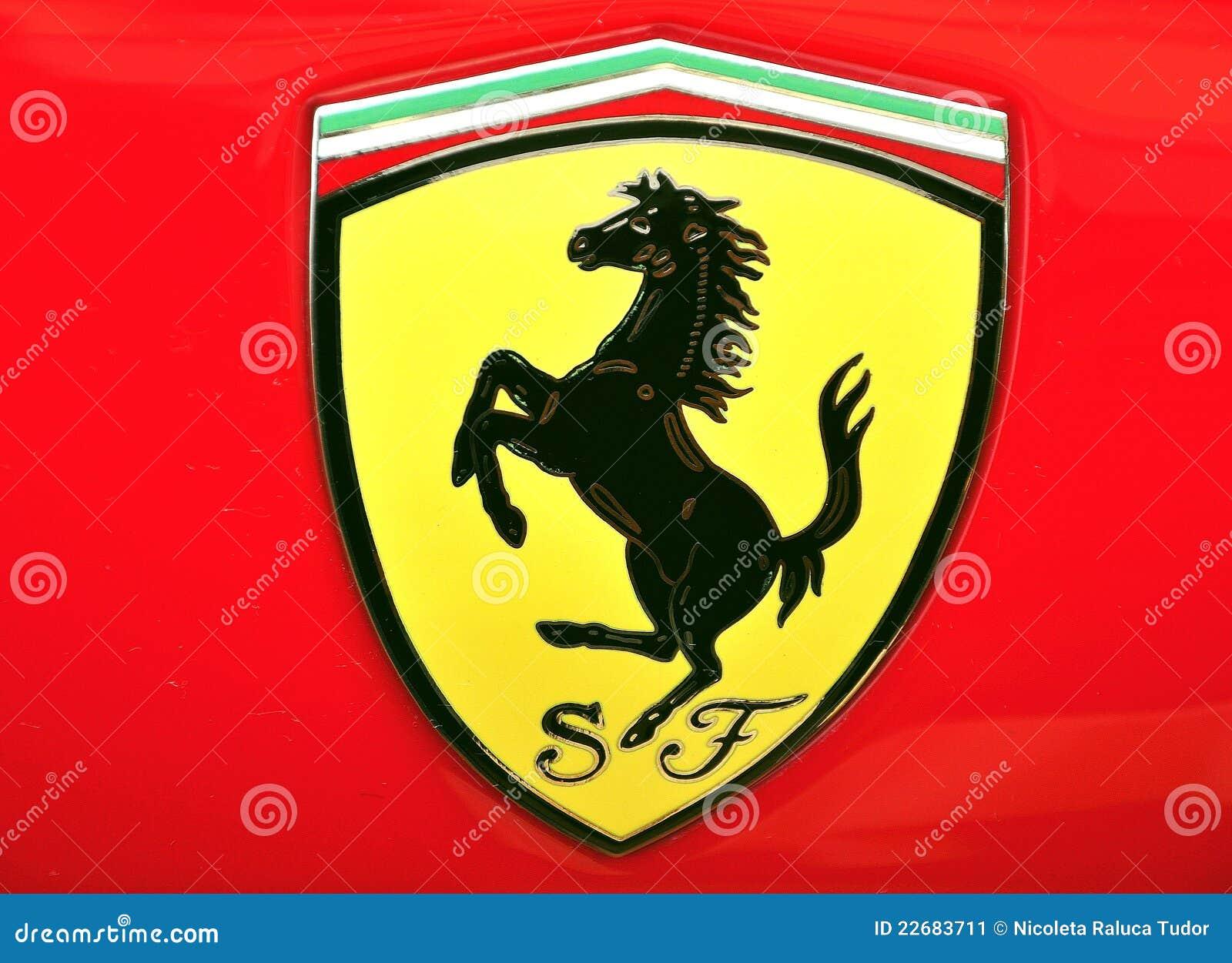 Ferrari Logo Editorial Photo Image Of Business Europe 22683711