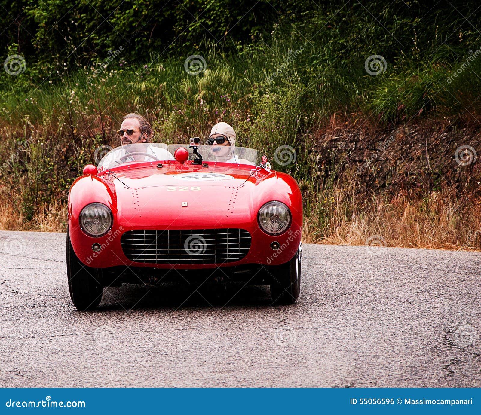 Vintage Fiat 500 Spider Cabrio Special Stock Photography