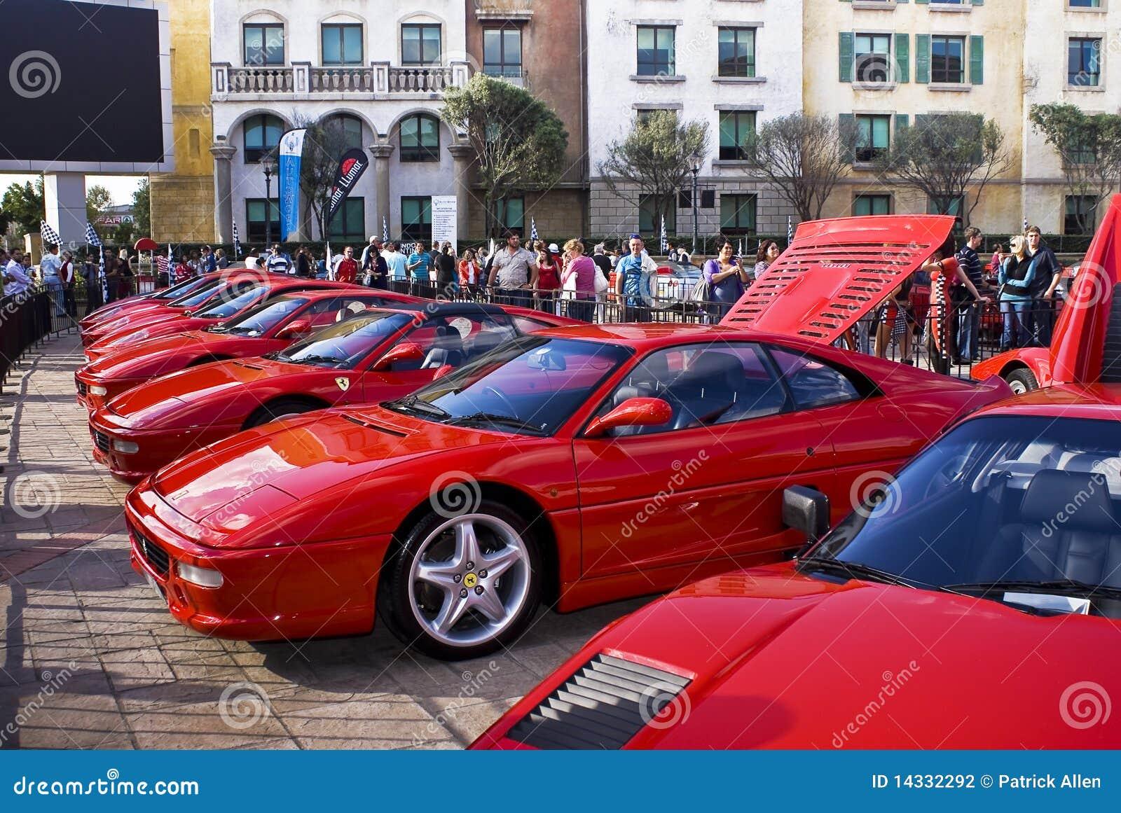 Ferrari Show Day 355 F1 Berlinetta Editorial Photography