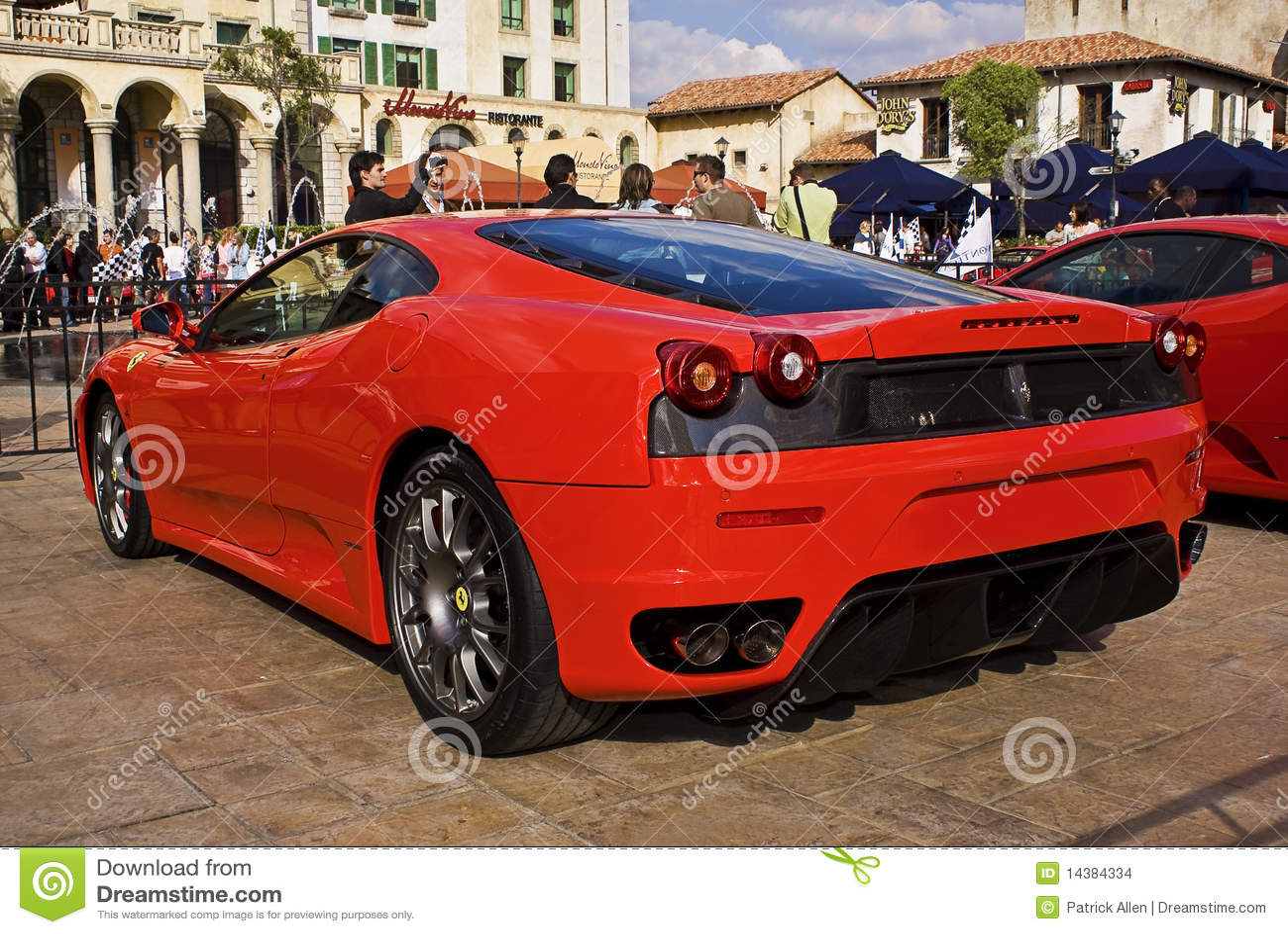 Ferrari Show Day F430 Coupe Rear End Editorial Stock Image Image Of Modena Montecasino 14384334